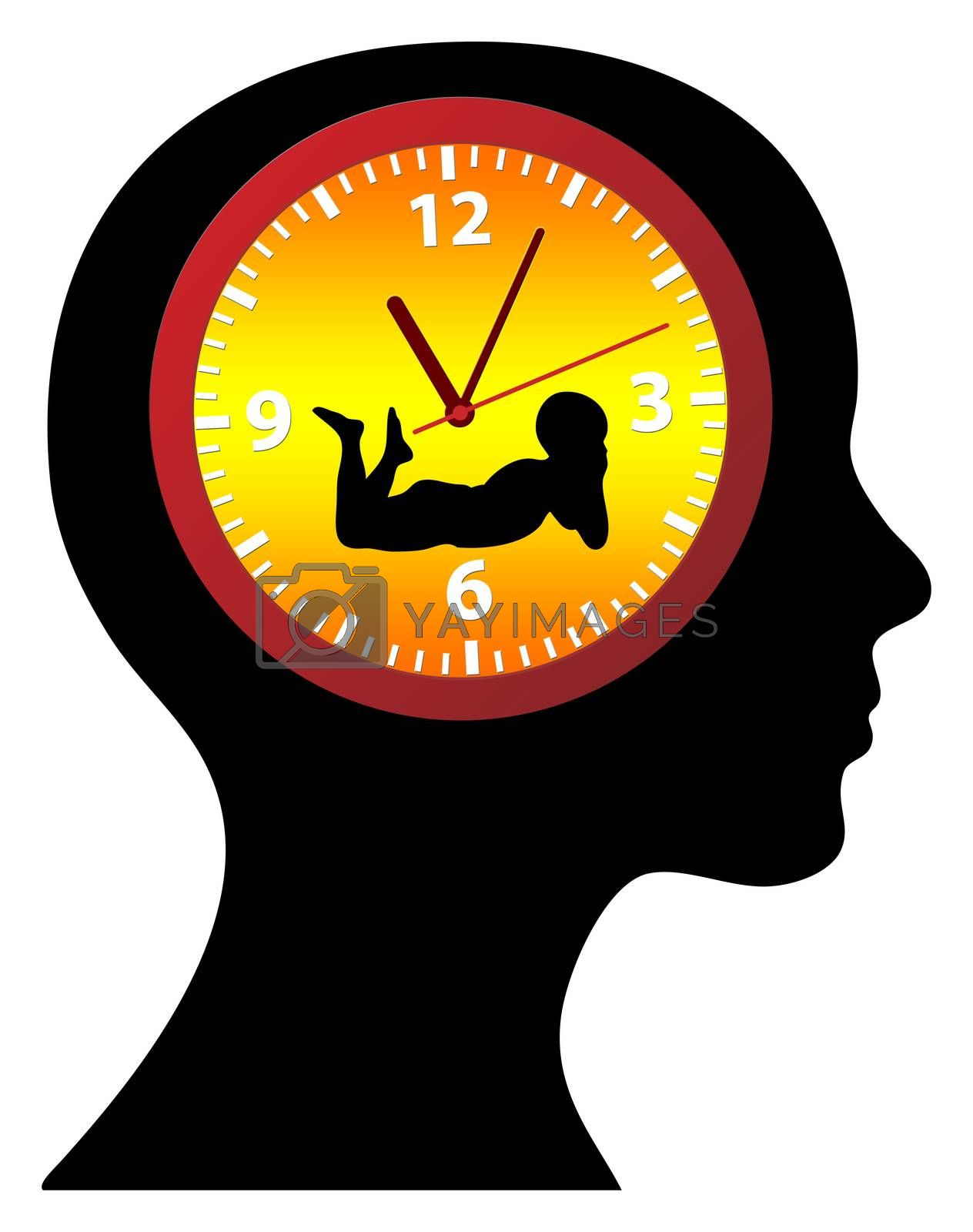 Ticking Biological Clock. Female fears regarding the desire to have children above certain age