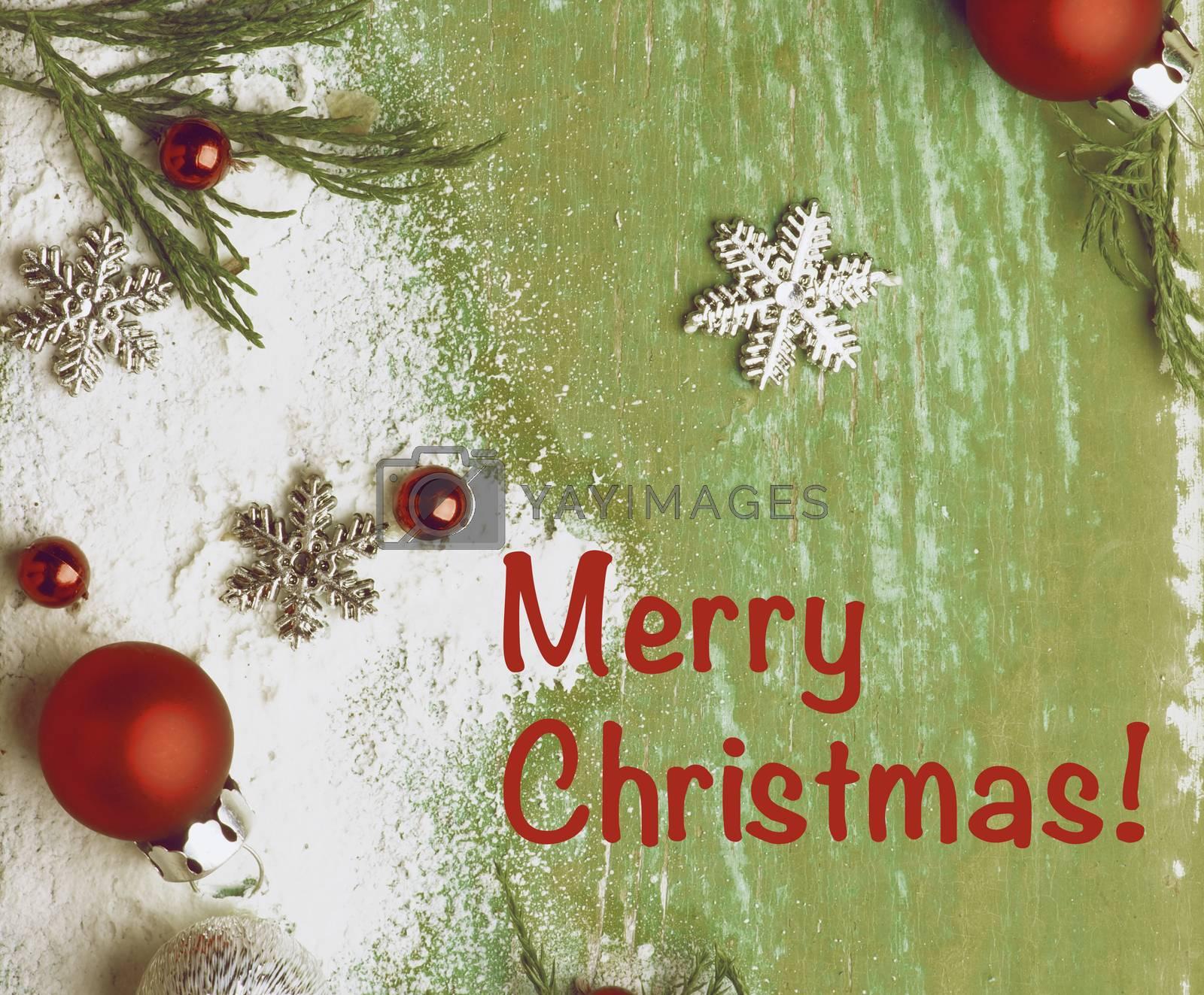 Christmas Greeting Card by zhekos