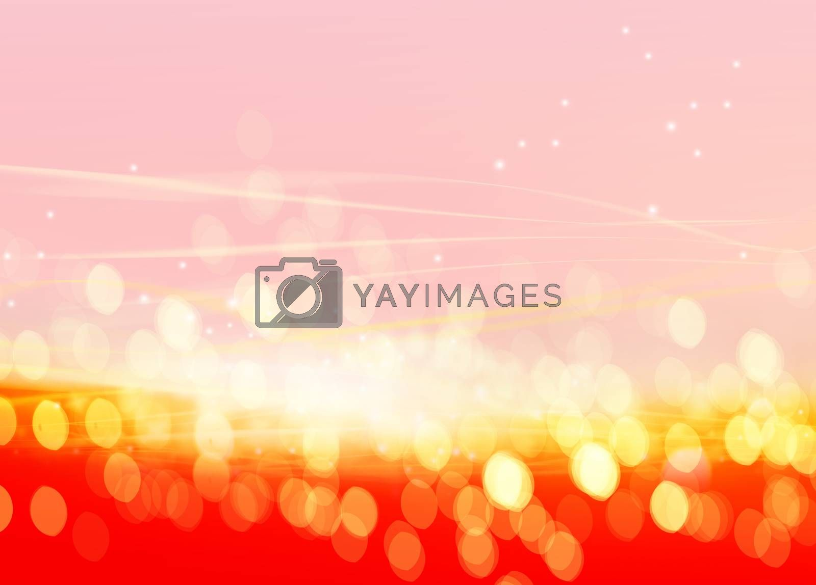 Royalty free image of defocused Christmas lights  by ssuaphoto