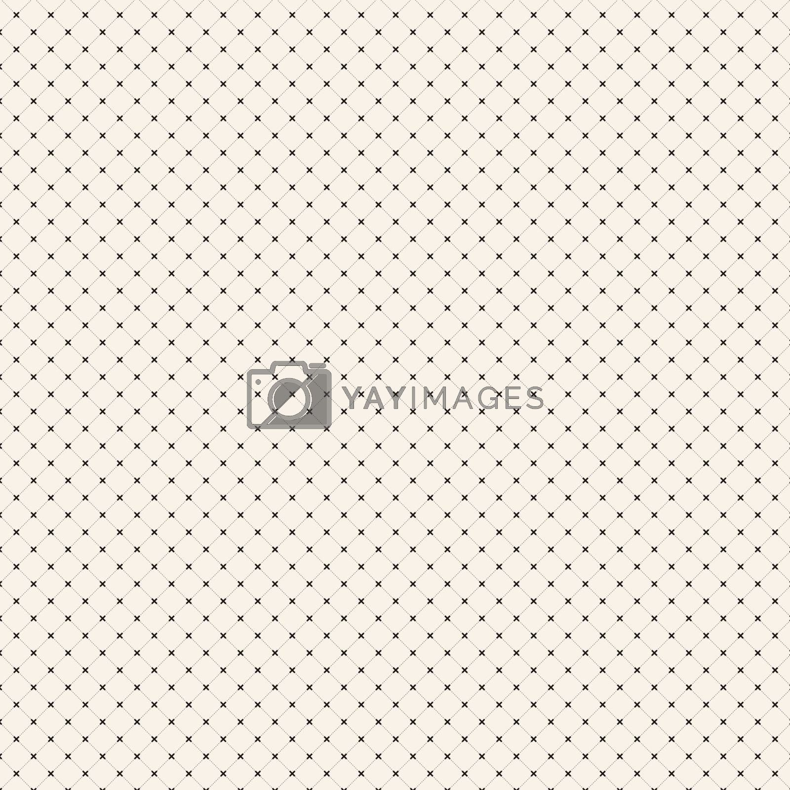 Abstract dashed lines diagonal with cross line pattern background texture, Vector illustration