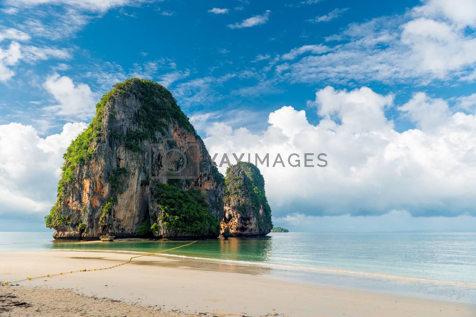 Andaman Sea and Ko Rang Nok in Thailand