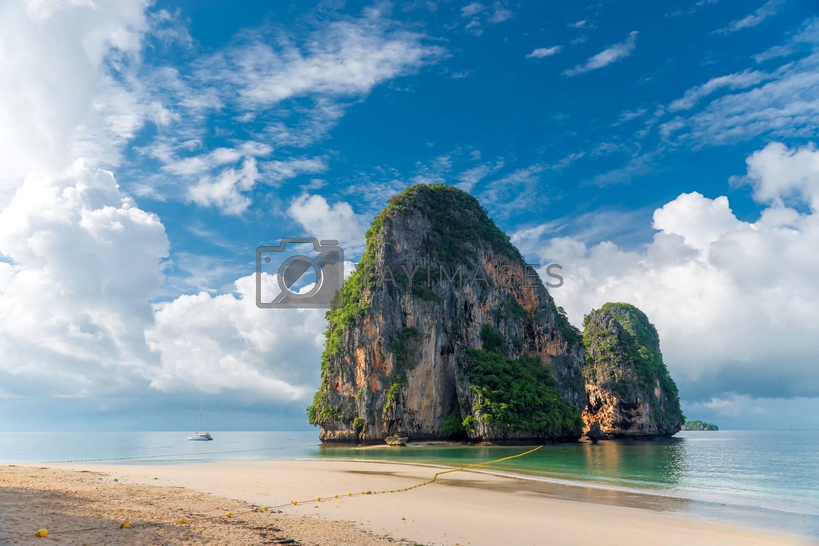 Ko Rang Nok in Thailand, Andaman Sea