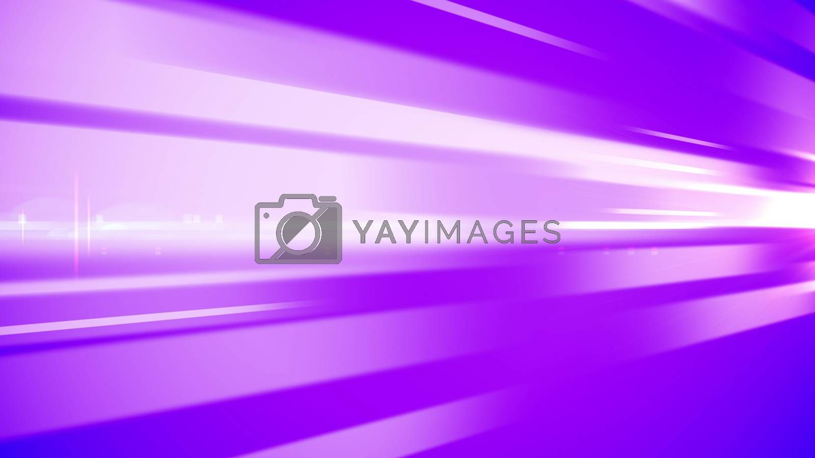 An abstract 3d rendering ofviolet and white bar lines rousing people for dreaming getaways and spontaneous decisions. The picture has a psychodelic effect.