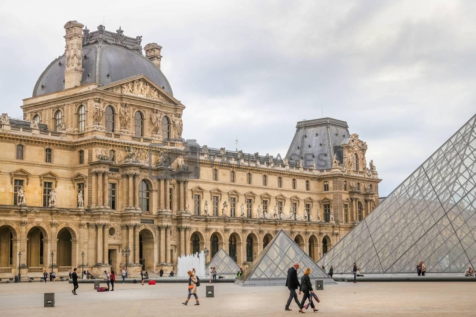 Louvre Museum in Paris City by EvrenKalinbacak