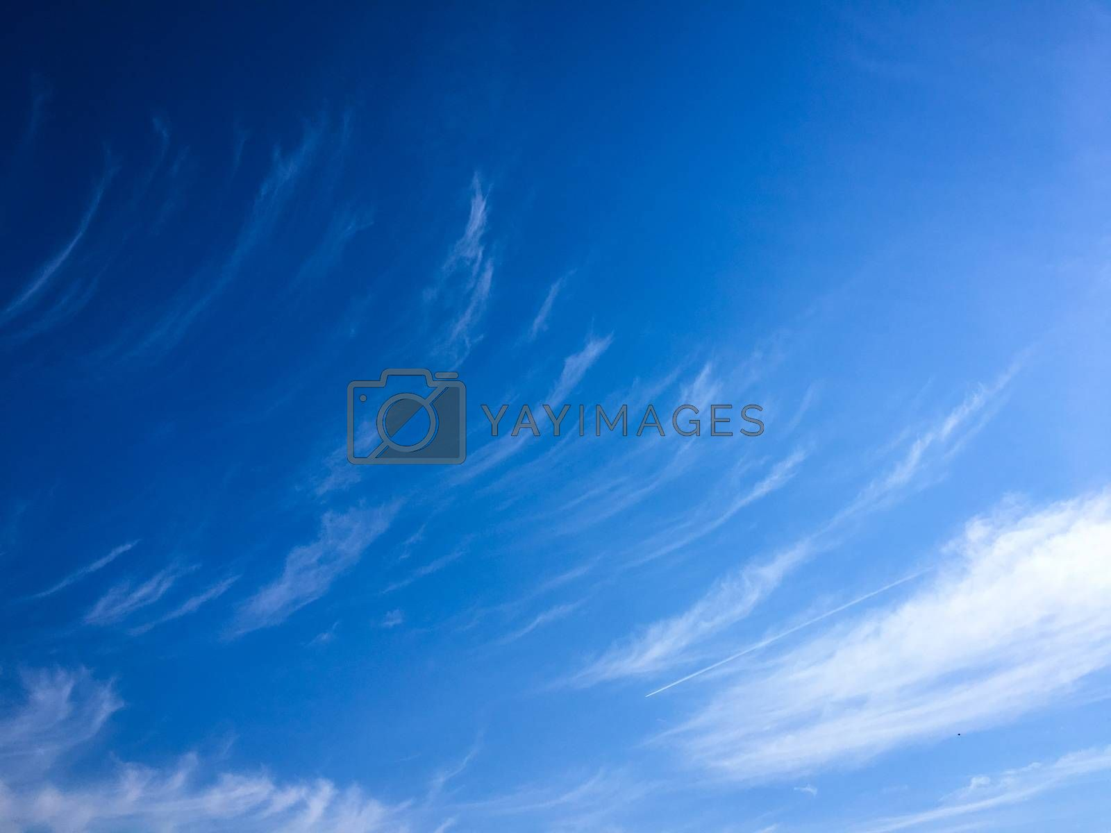 beautiful blue sky with clouds background.Sky with clouds weather nature cloud blue.Blue sky with clouds and sun