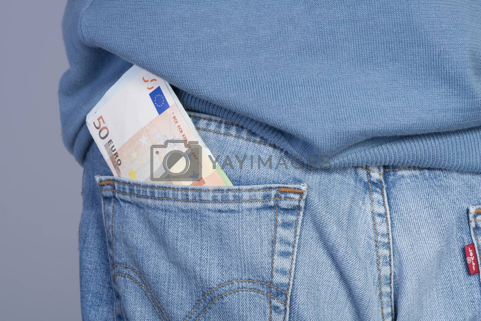 Euro's banknotes by Delle Vedove