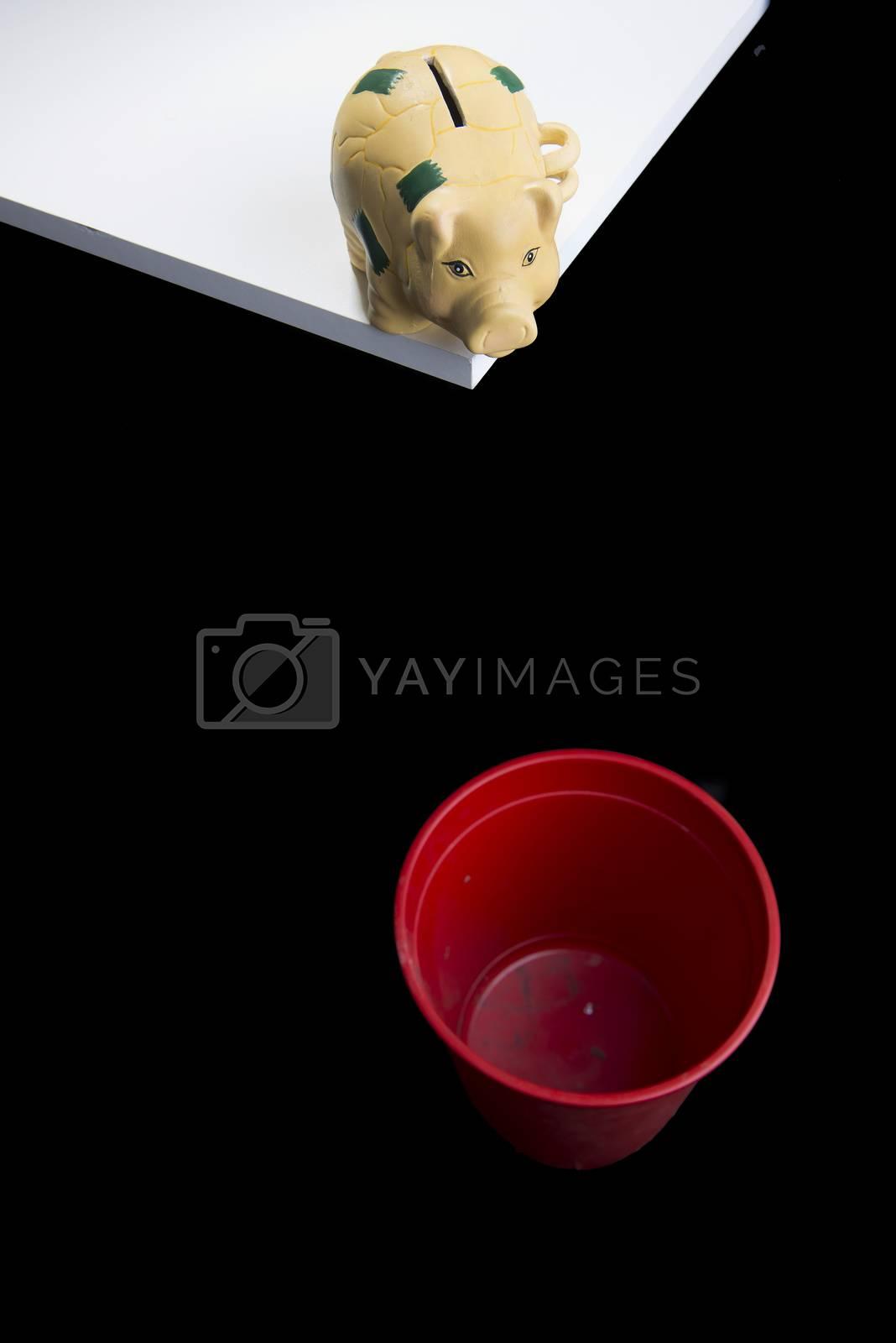 Piggy bank by Delle Vedove