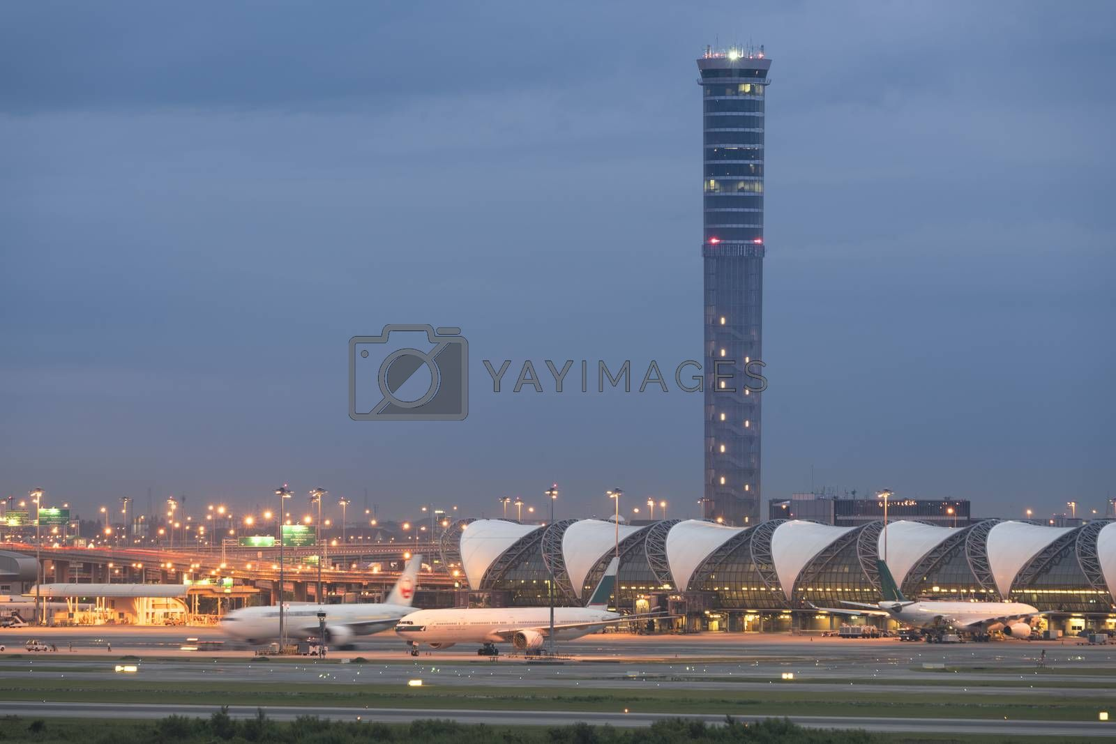 On 22 October 2017 Suvarnabhumi Airport two international airports serving Bangkok, Thailand