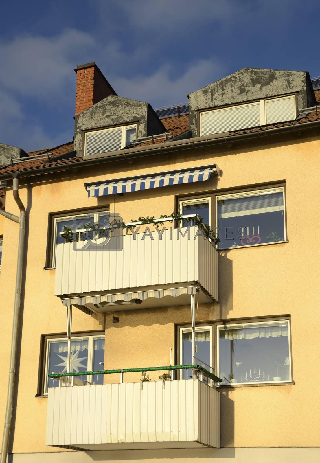 Apartment block, Vaxholm - Sweden