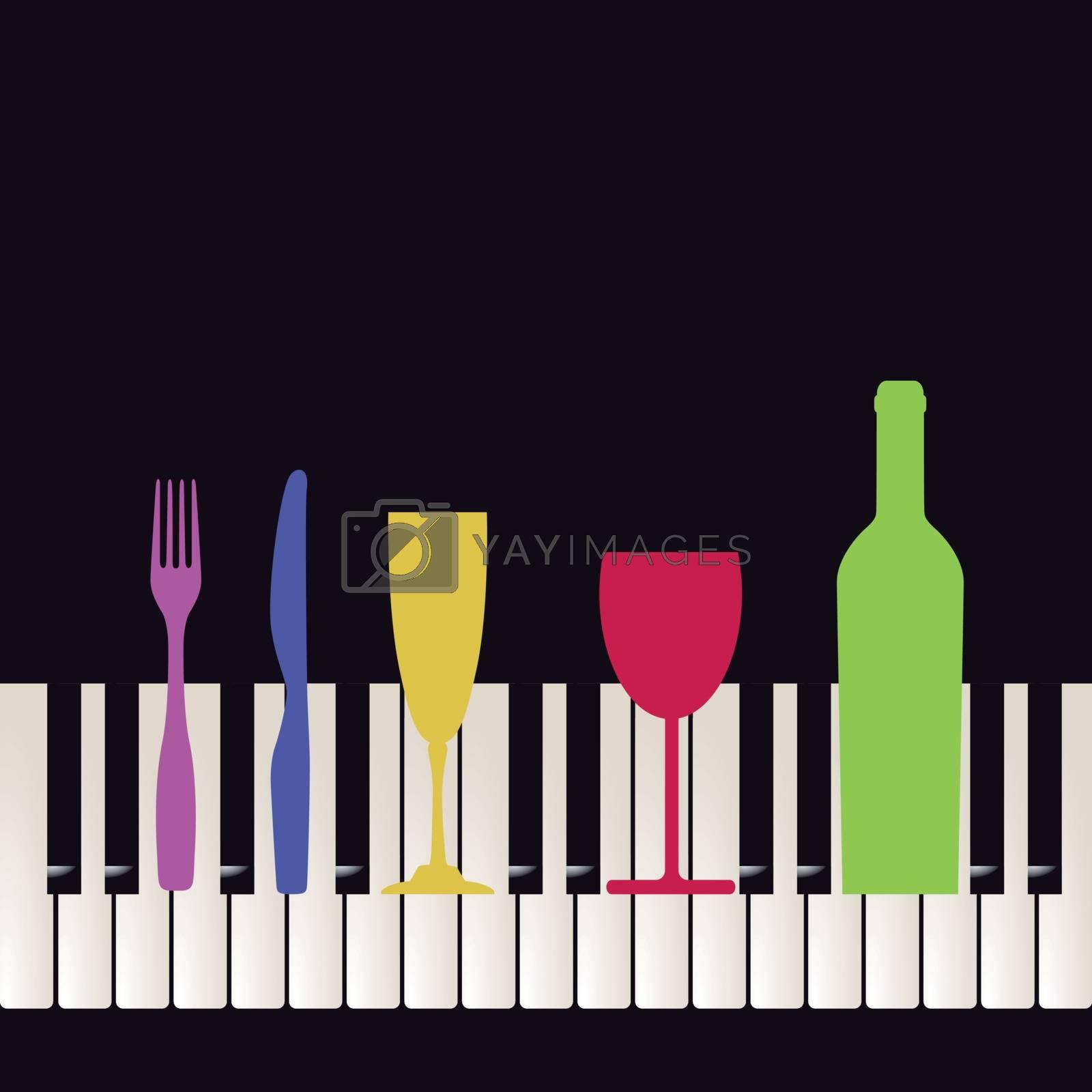 Piano bar event