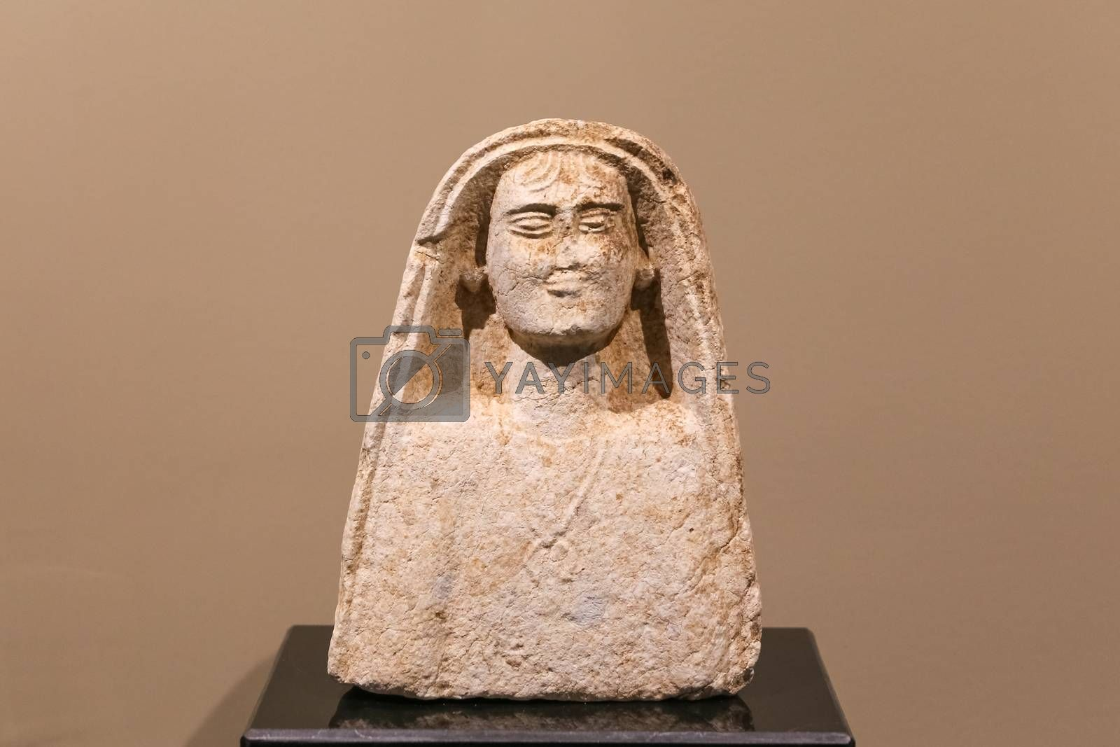 Ancient Statues in Alanya Museum, Antalya, Turkey by EvrenKalinbacak