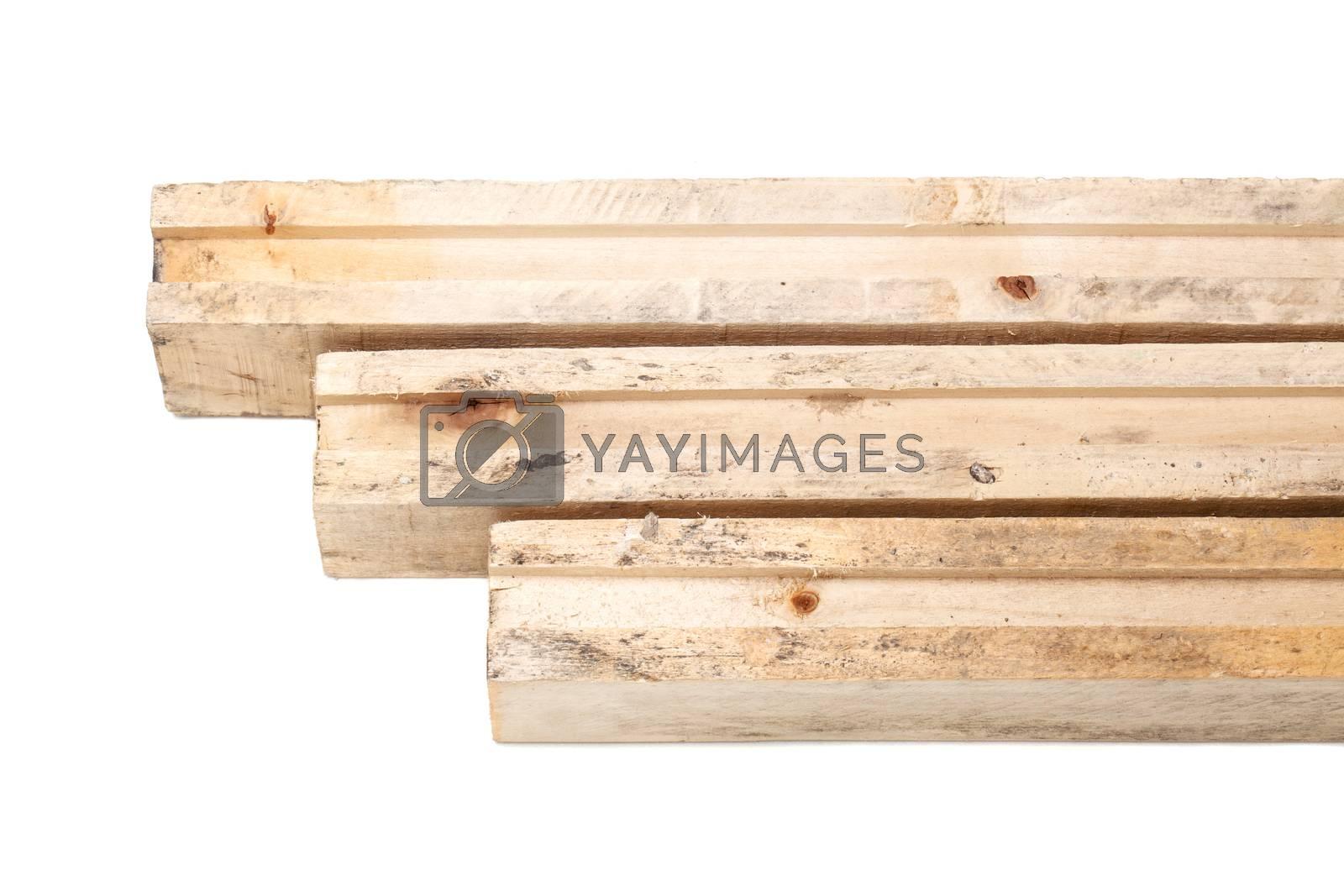 wooden beams by kokimk