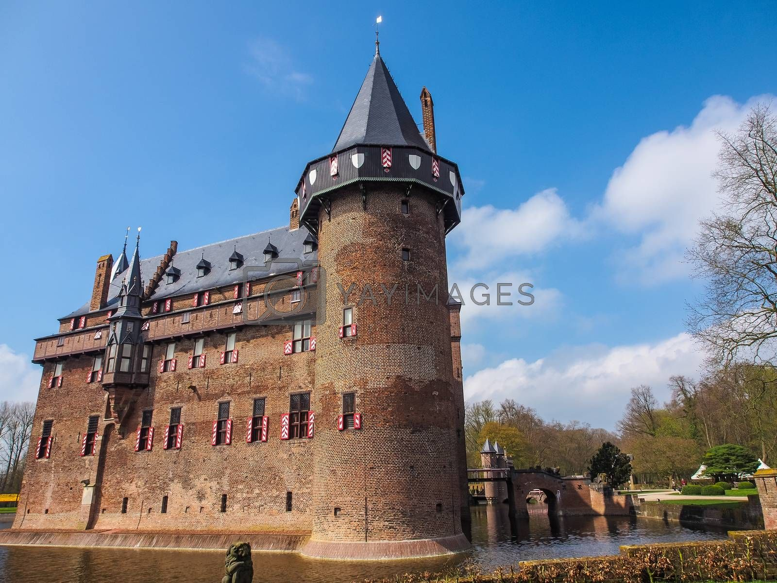 Holland castle on water de Haar by simpleBE