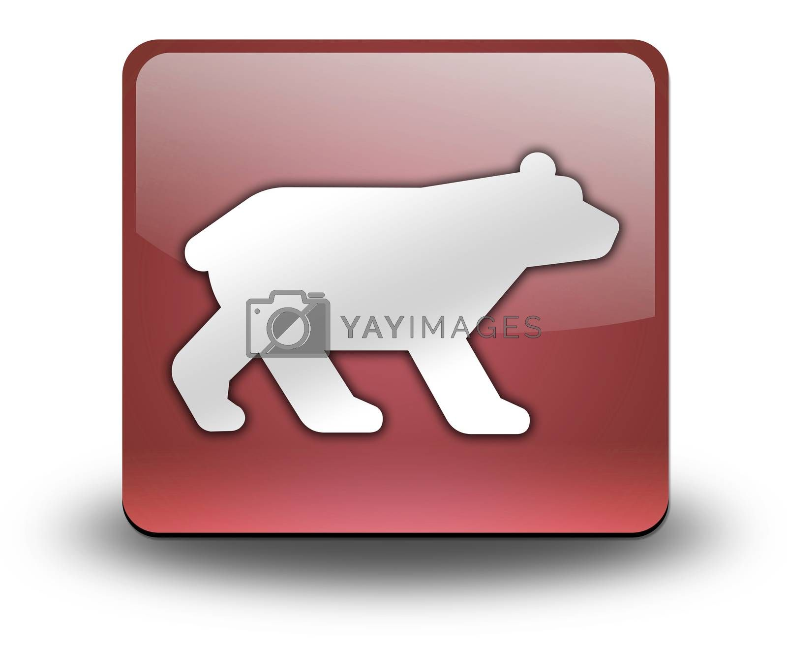 Icon, Button, Pictogram Bear by mindscanner
