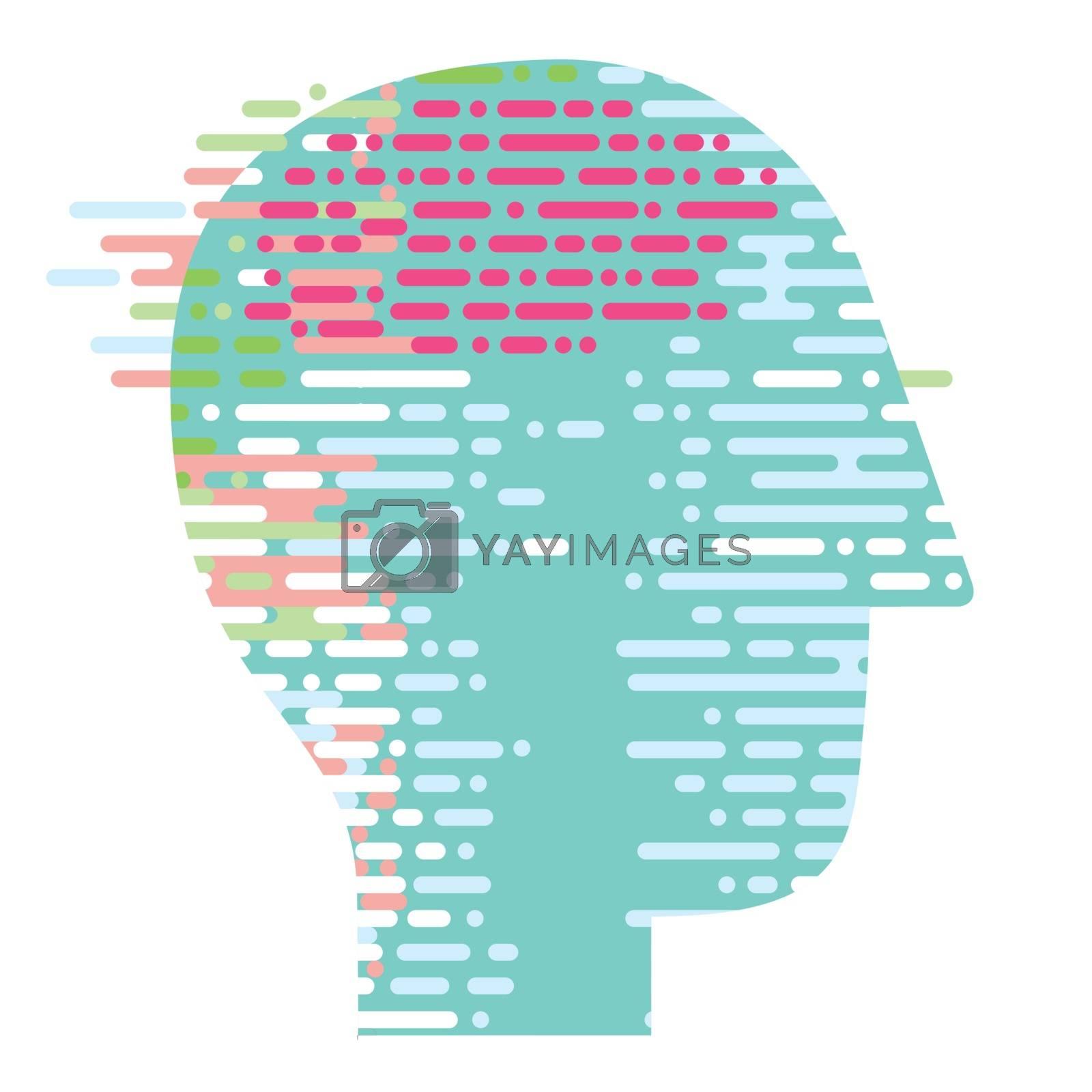 think, head symbol illustration