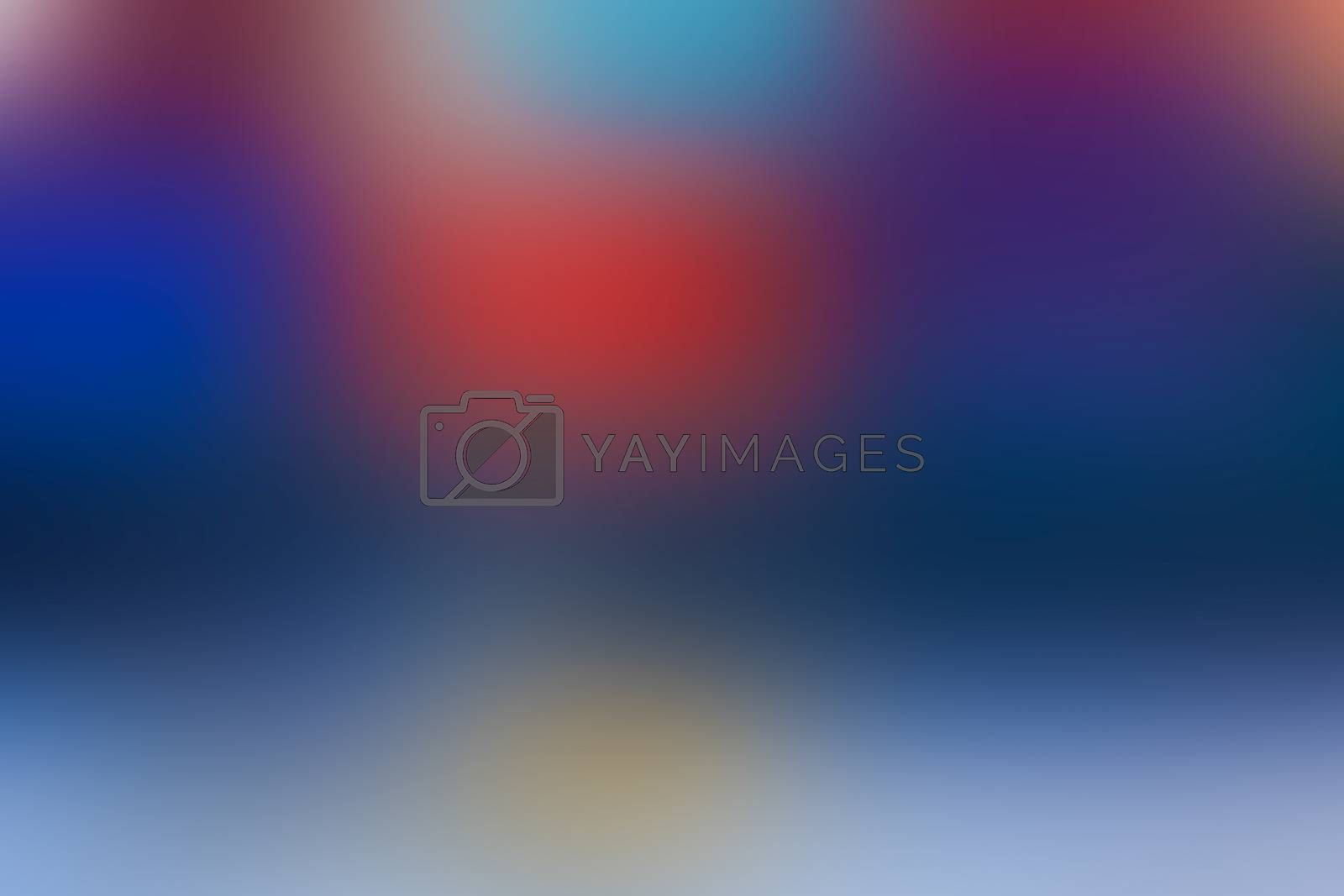 Blue abstract soft blurred nature background. Canvas for any project