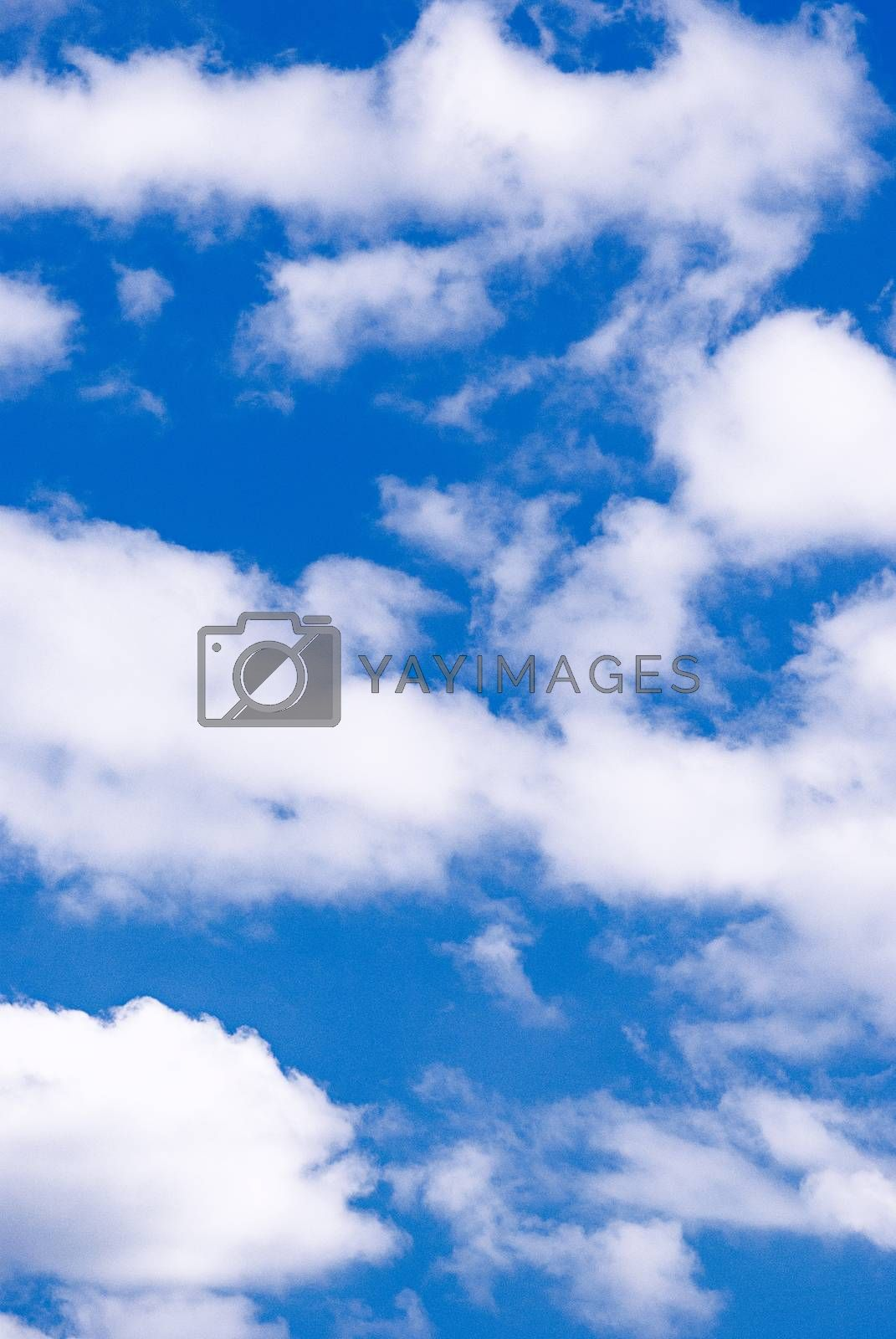 Royalty free image of blue sky with cloud by AEK