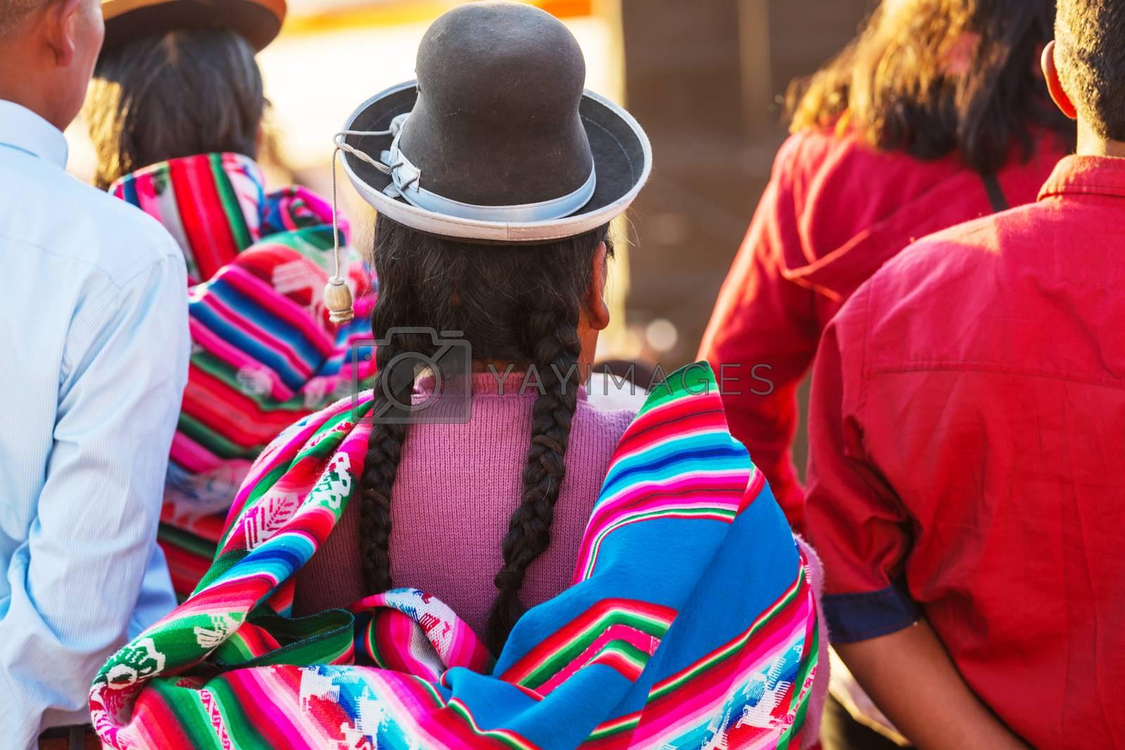 Peruvian people by kamchatka