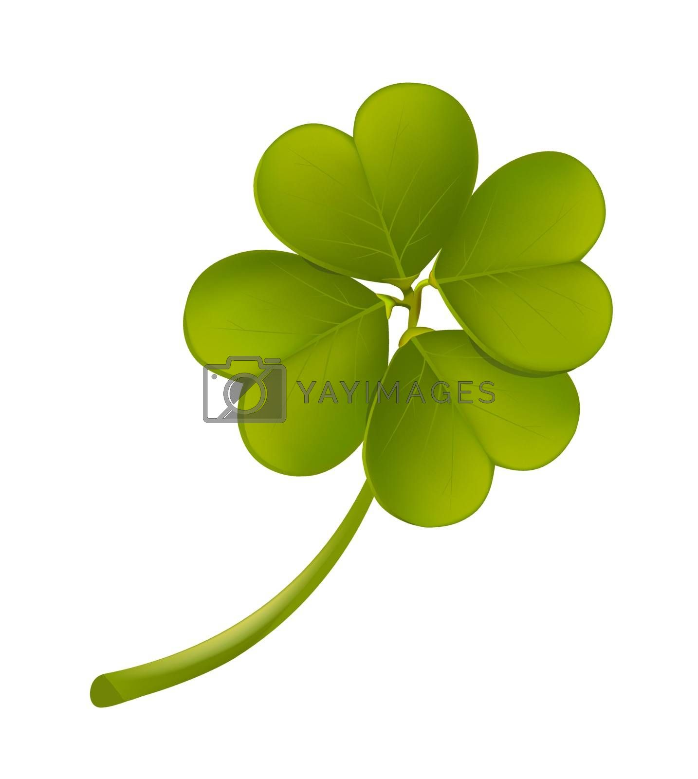 Leaf clover by liolle