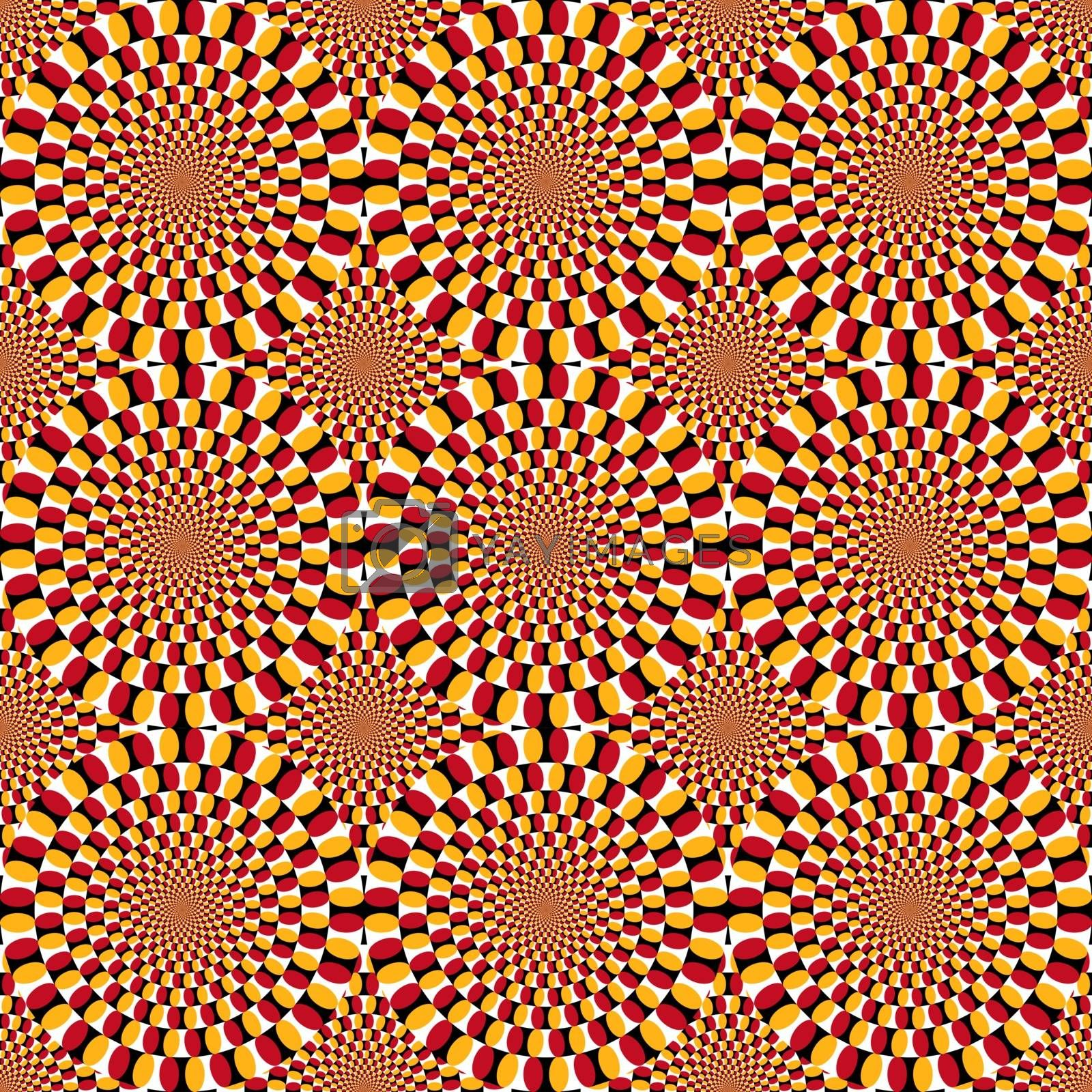 Vector Optical Illusion Spin Cycle Background Texture Royalty Free Stock Image Stock Photos Royalty Free Images Vectors Footage Yayimages