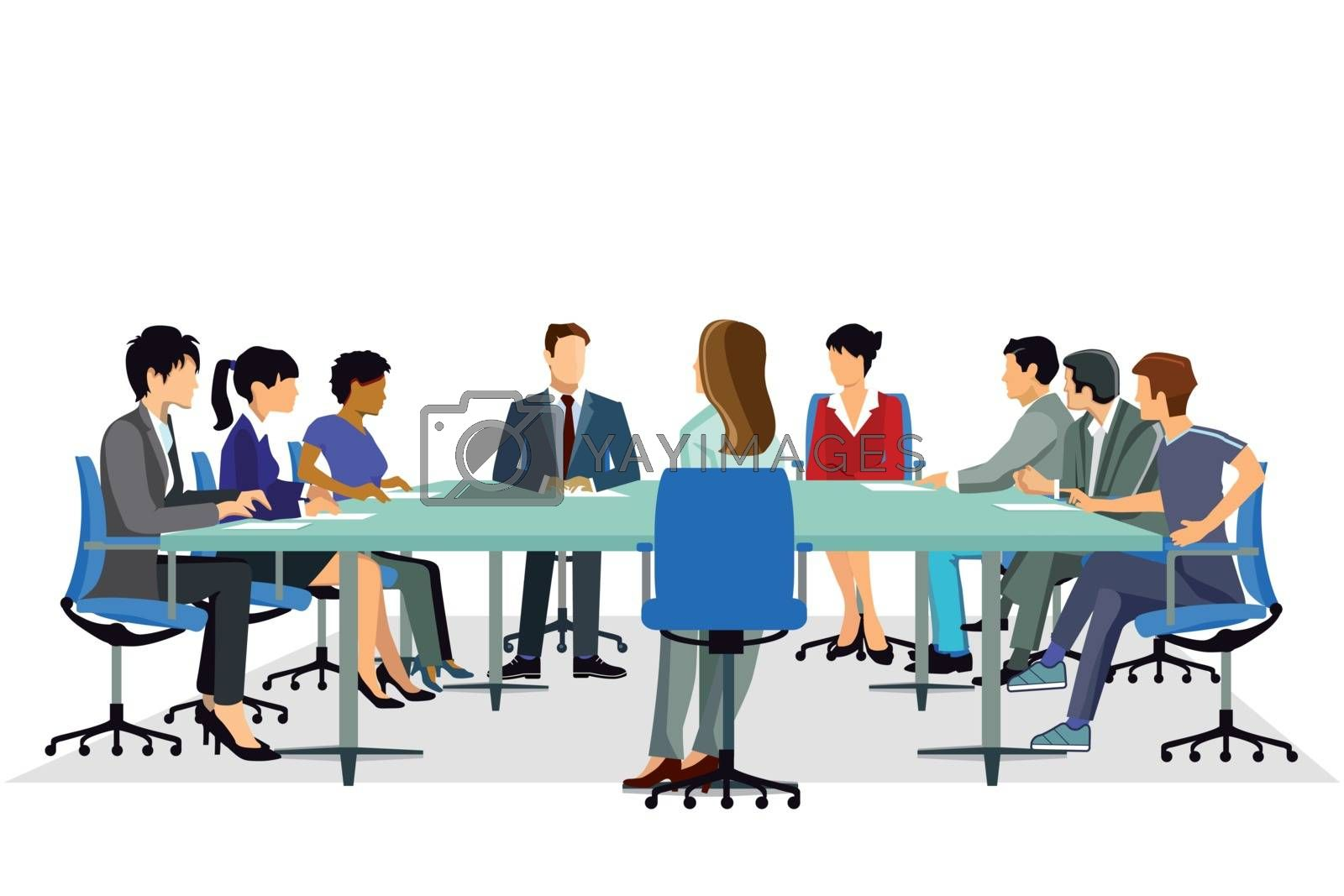 Meeting Conference, Discussion, Seminar