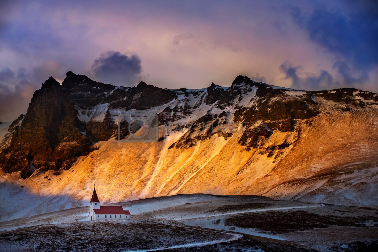 Iceland landscape by Anna_Omelchenko