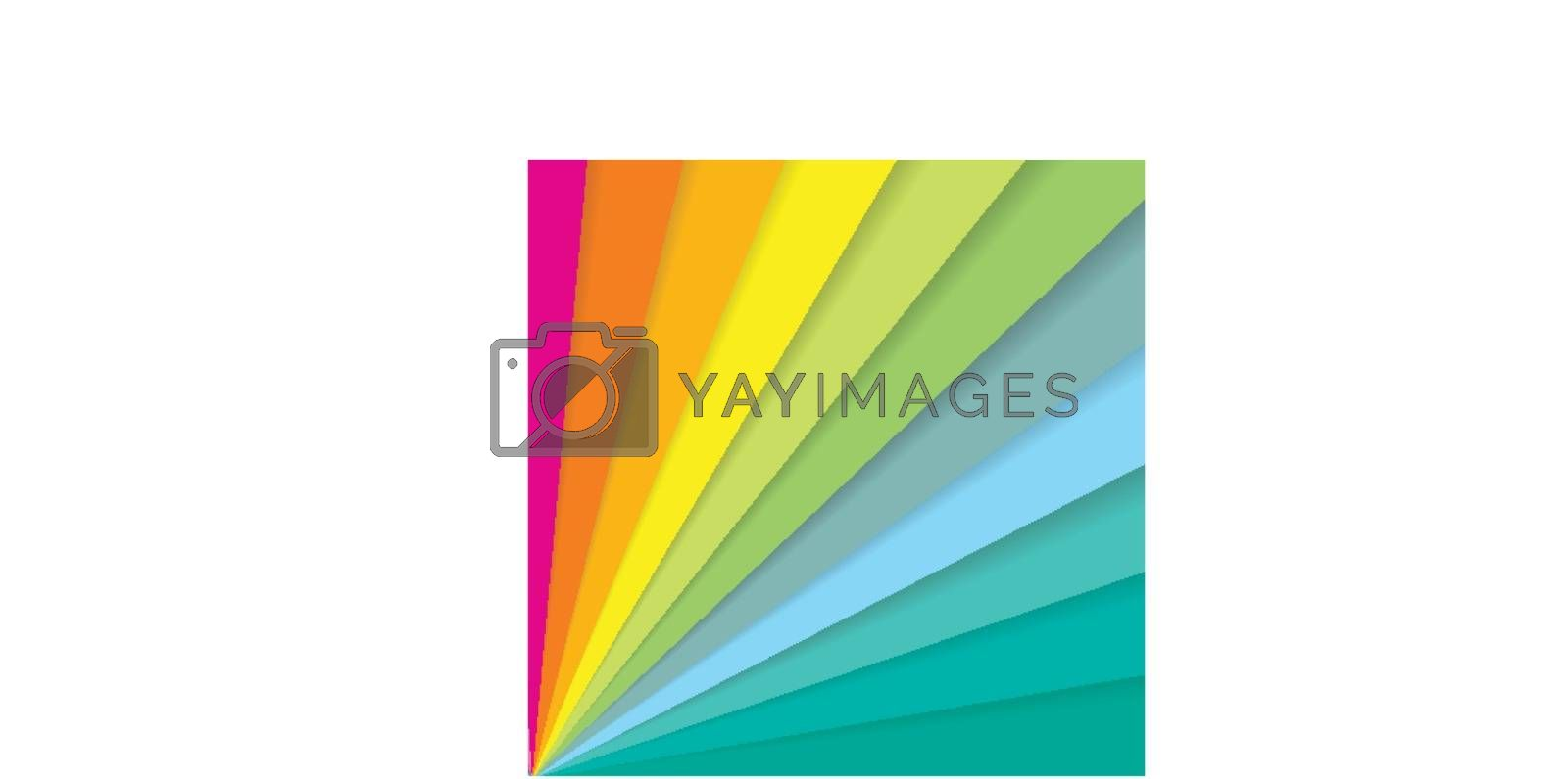 Abstract colorful striped diagonal lines pattern element speed motion on white background with copy space. Vector illustration