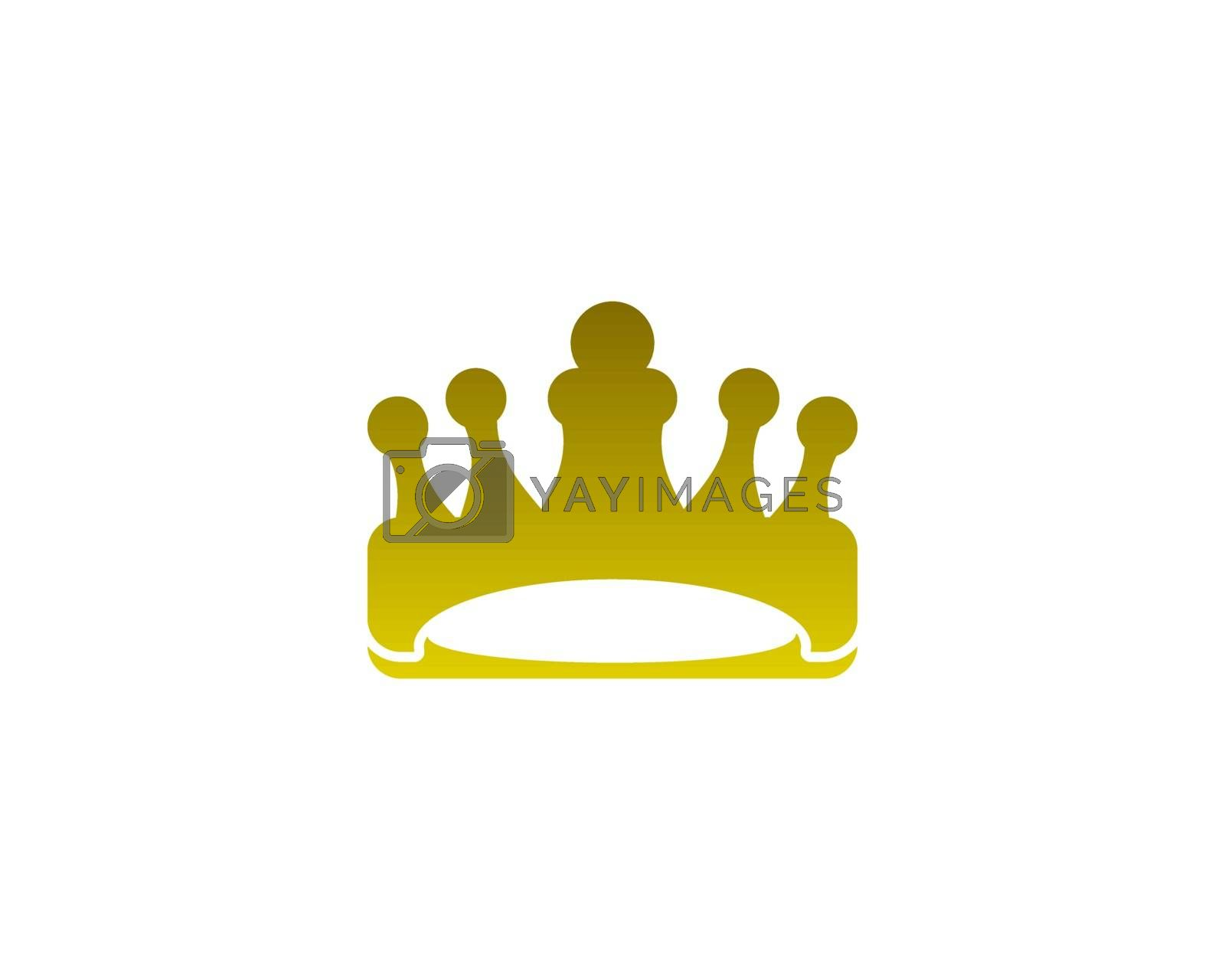 is a symbol associated with the crown of a kingdom