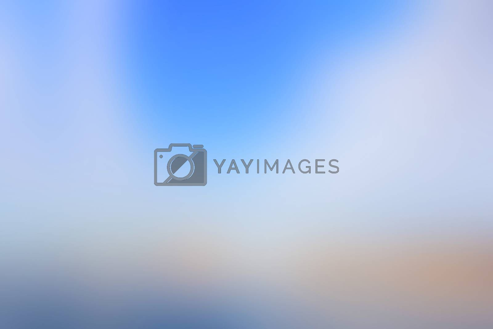 Abstract orange blue soft blurred background. Canvas for any project