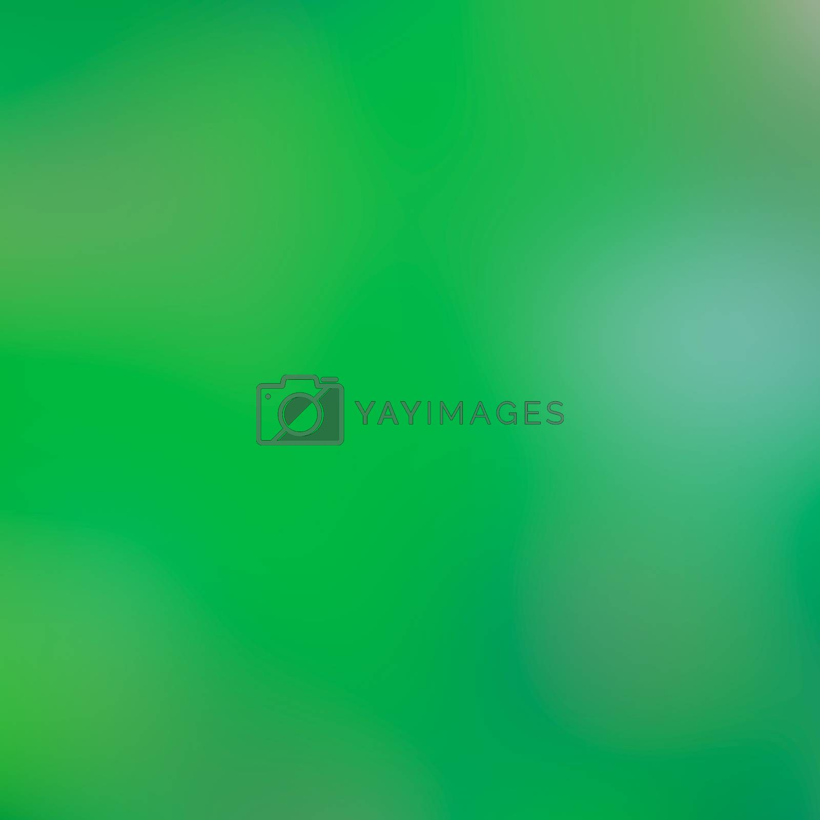 Abstract green nature soft blurred background. Canvas for any project