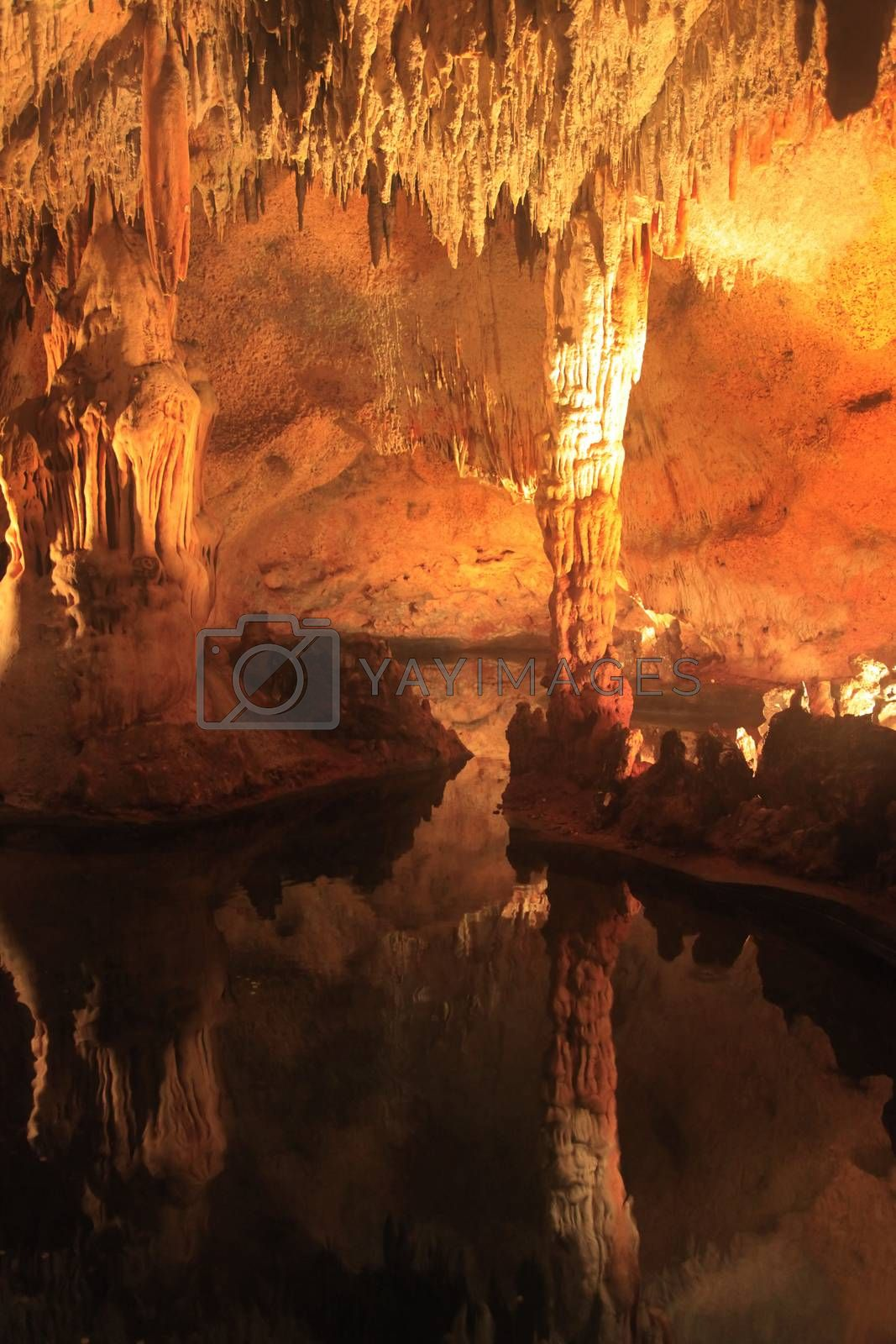 Cueva de las Maravillas. Cave of Wonders - one of the main natural attractions of the Dominican Republic, preserved in its original form