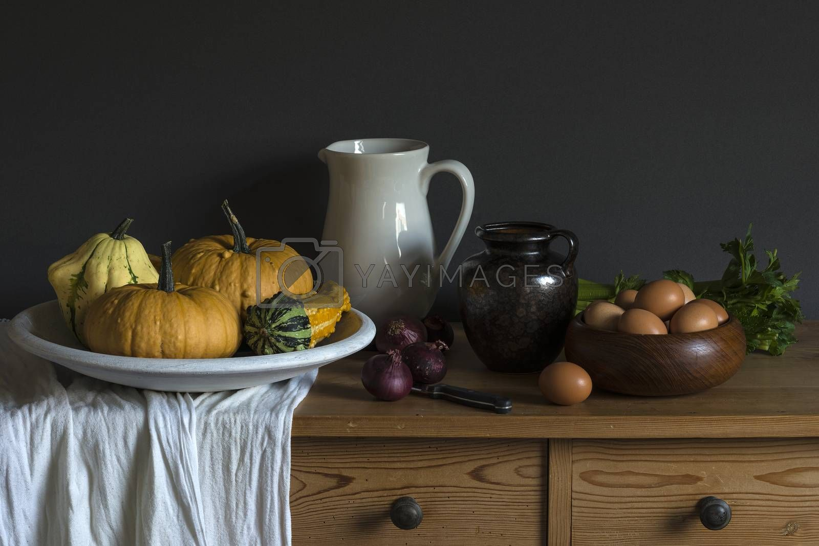 Still life based on a painting by an old master painter  by Tofotografie