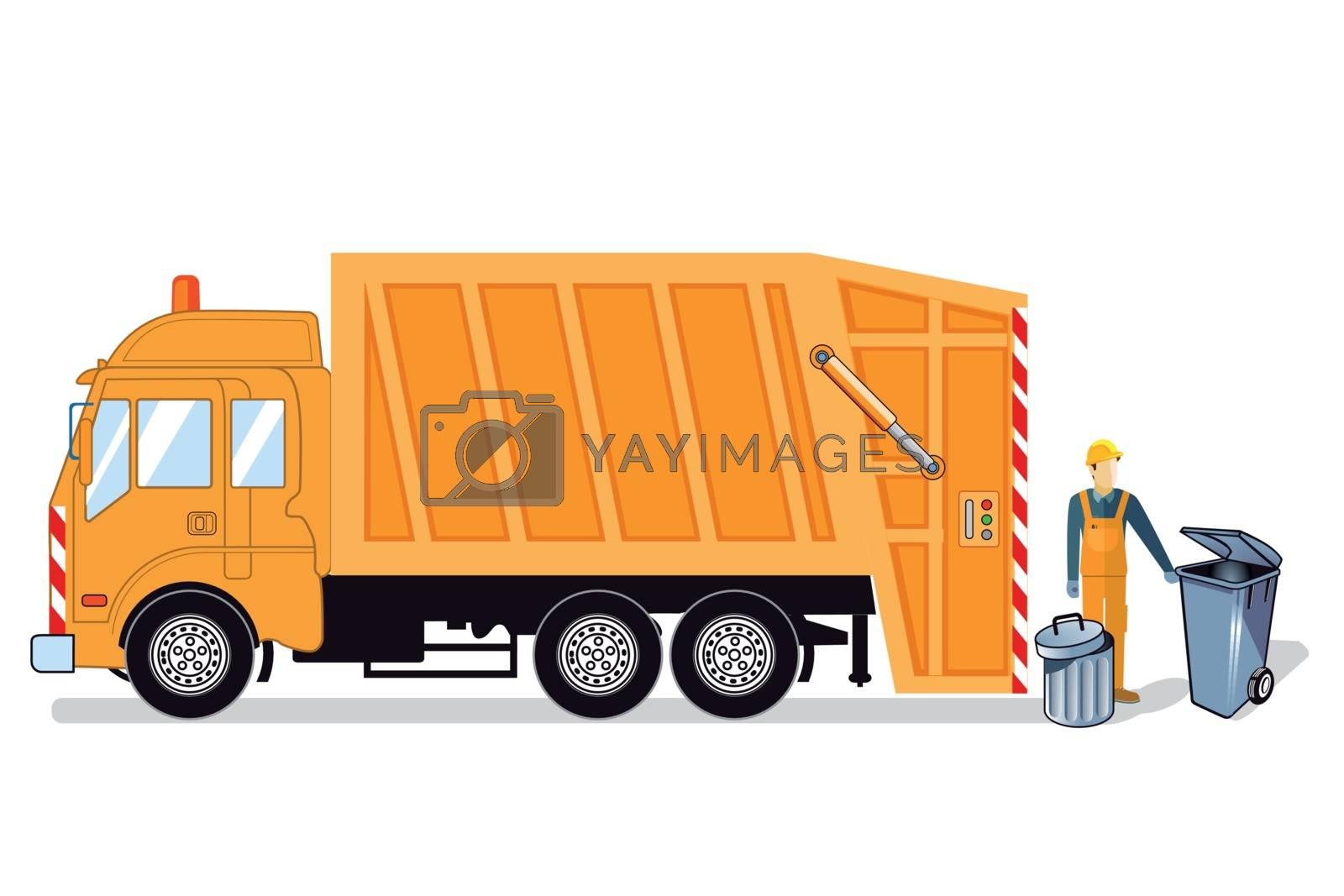 Waste disposal, Waste disposal vehicle