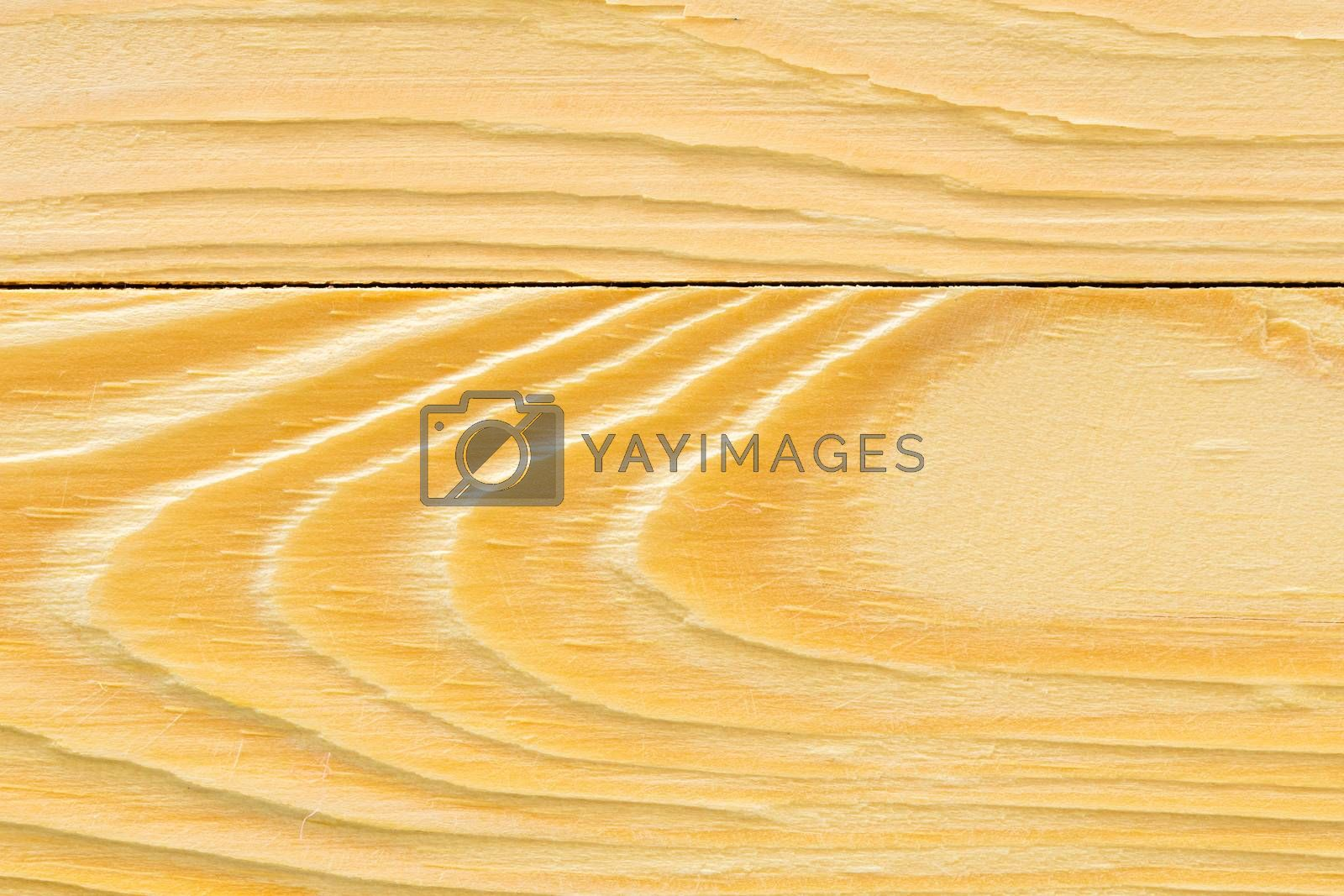 The surface texture of wood is wave.