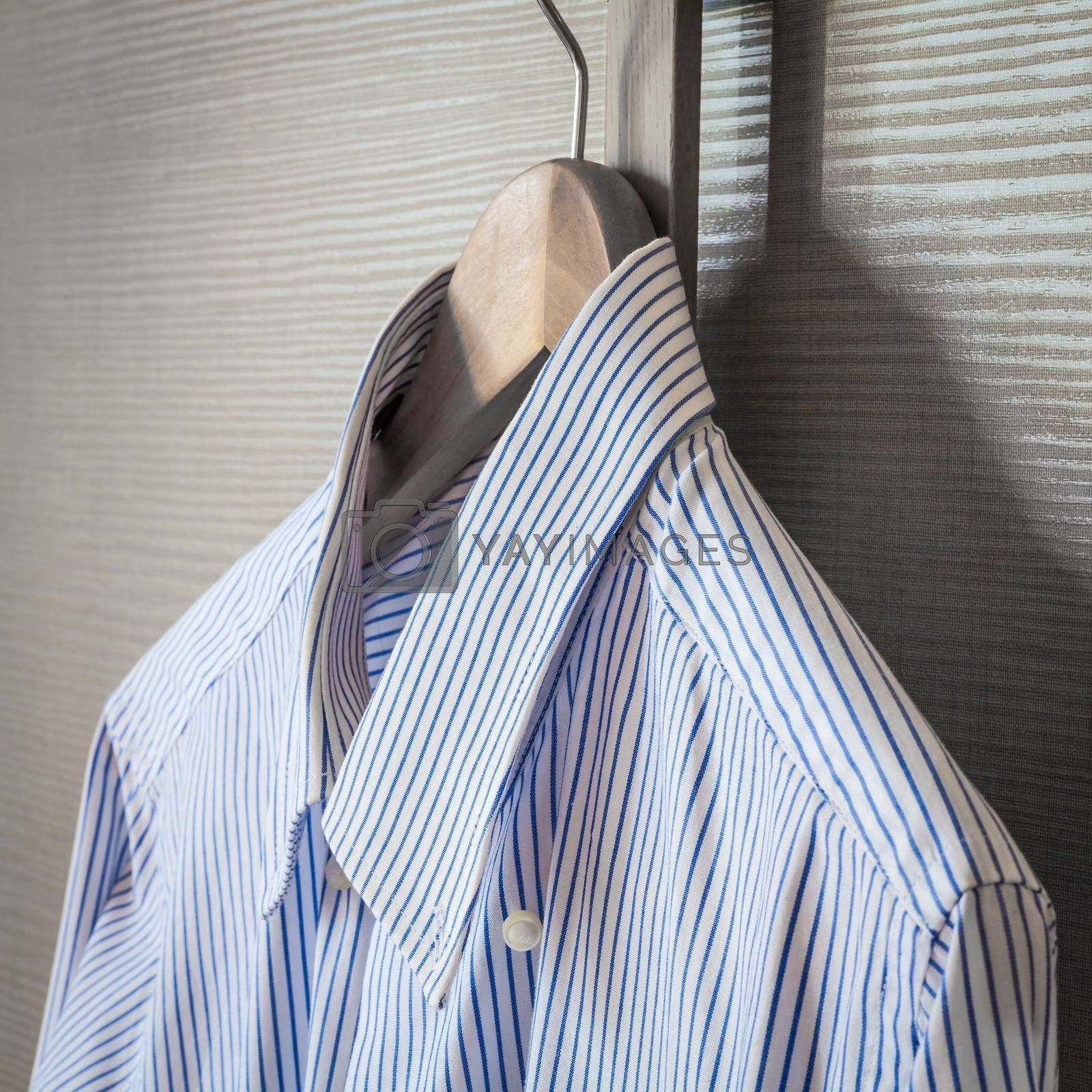 Italian fashion - business shirt, classical dresscode, ready for a business trip.