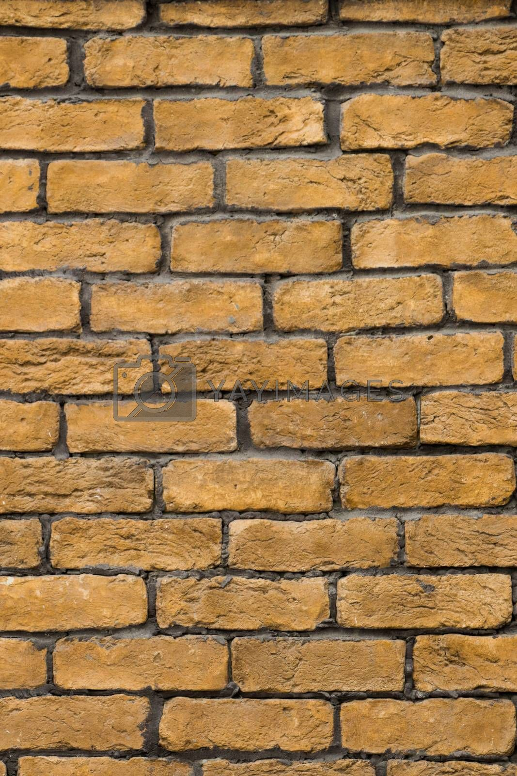 Old grunge brick wall as a background