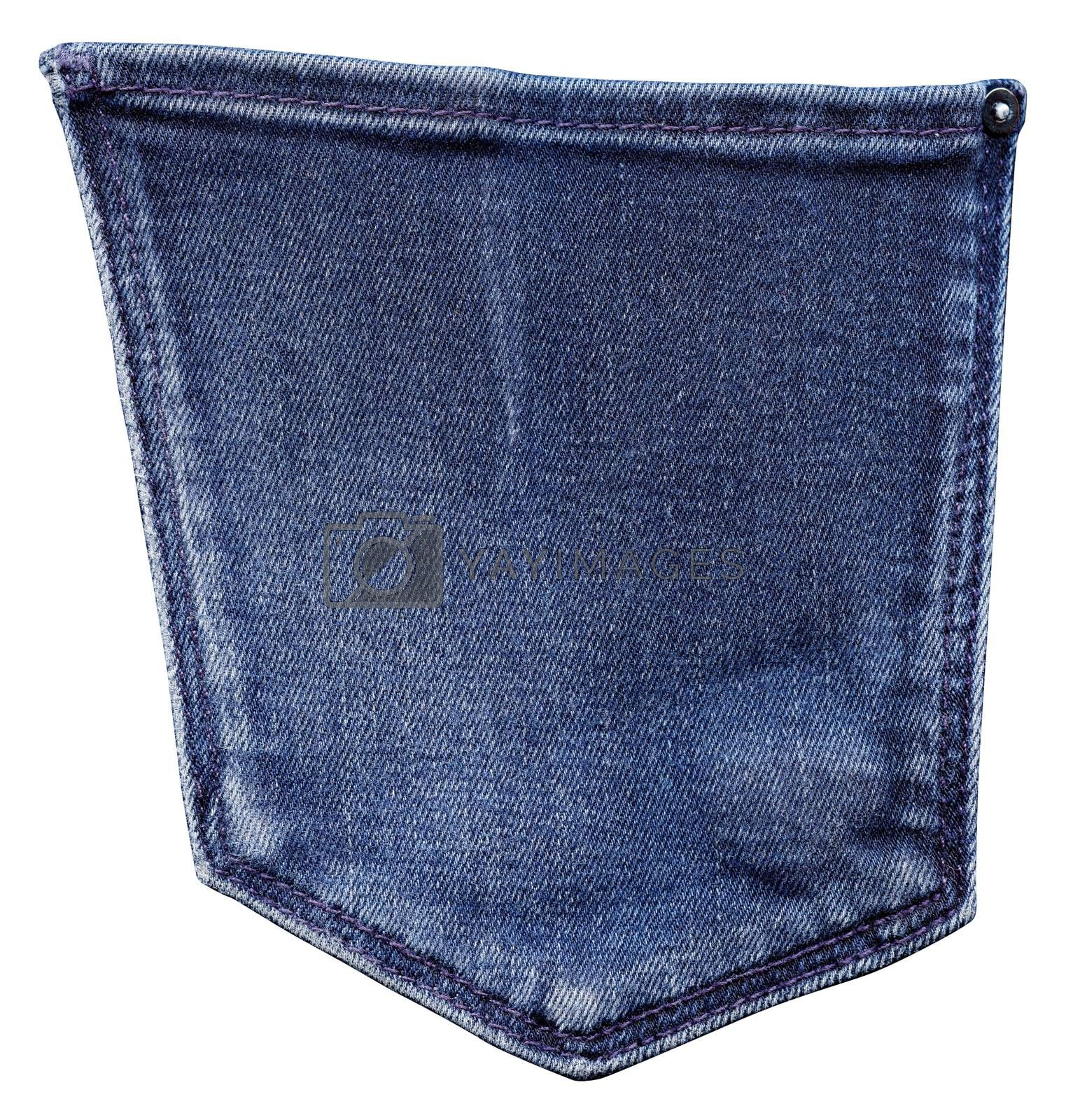 Royalty free image of Back jeans pocket by ESSL