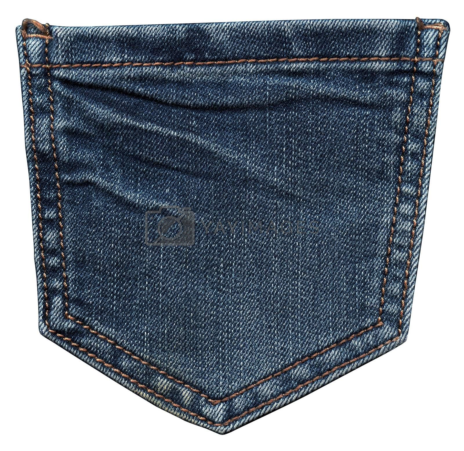 Back jeans pocket by ESSL
