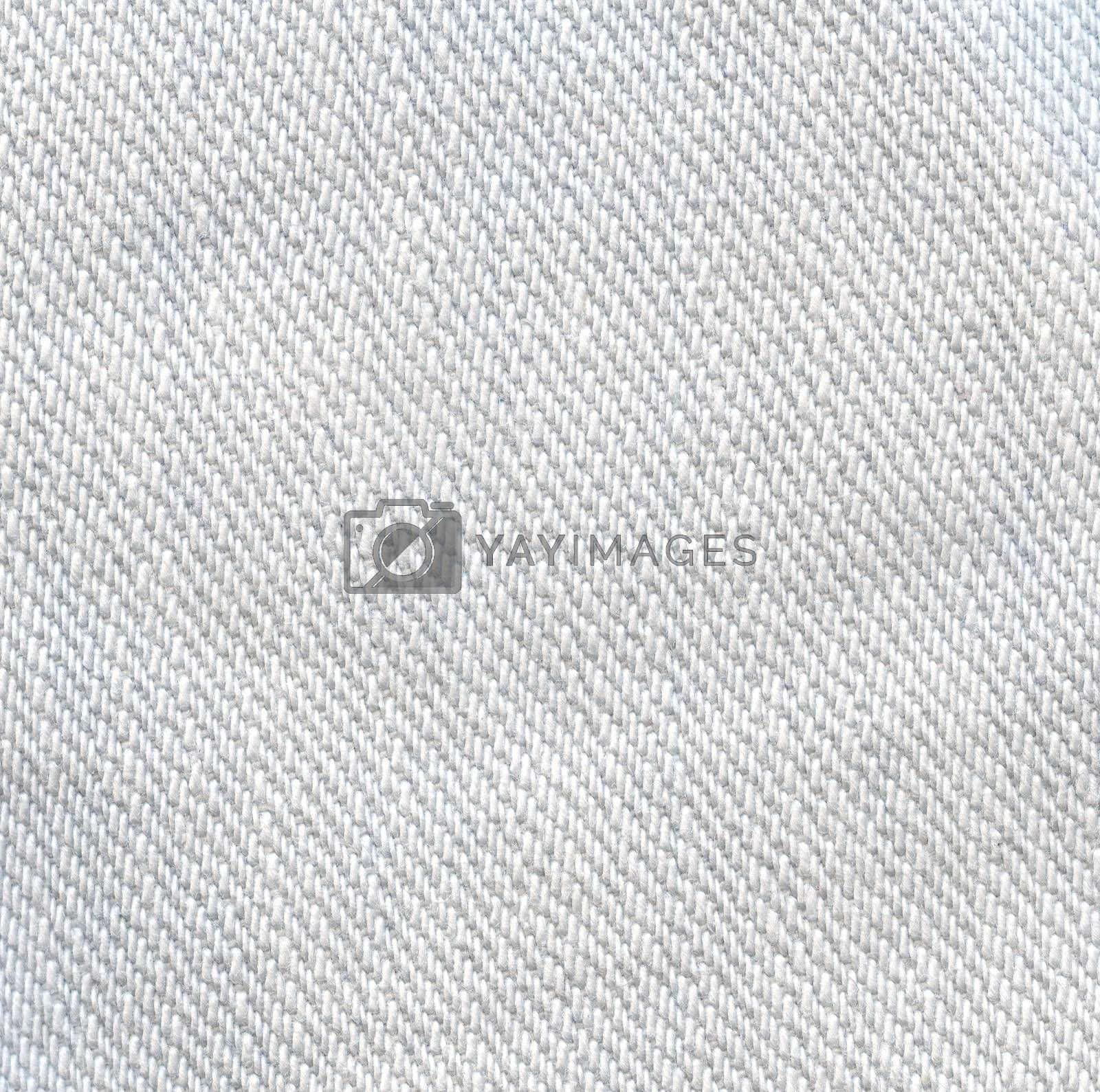 Light jeans texture background. White color canvas.