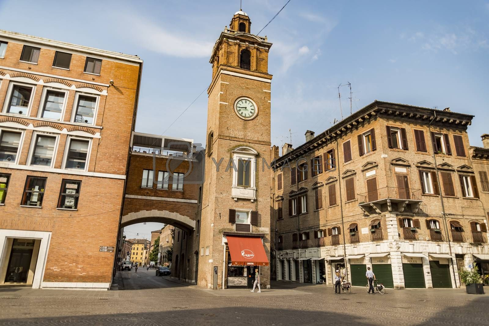 Royalty free image of The Square Trento and Trieste in Ferrara - Italy by edella