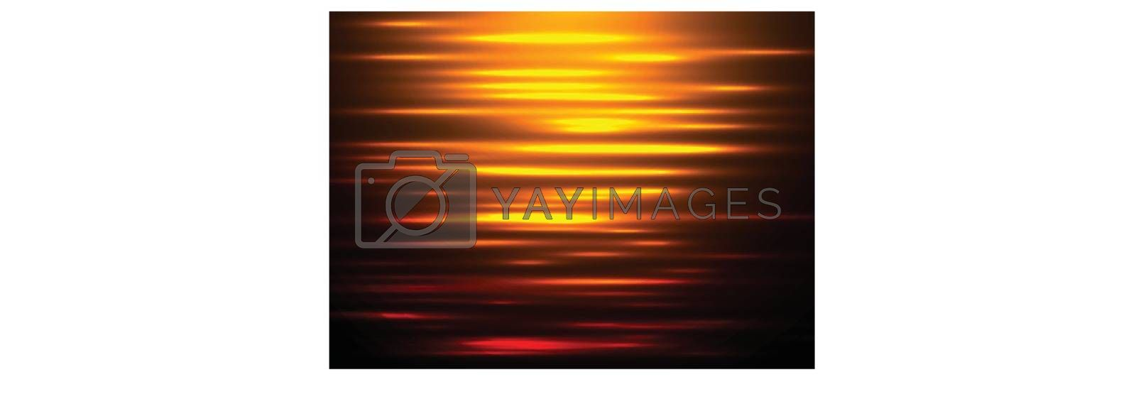 Abstract background water reflection at sunset. by phochi