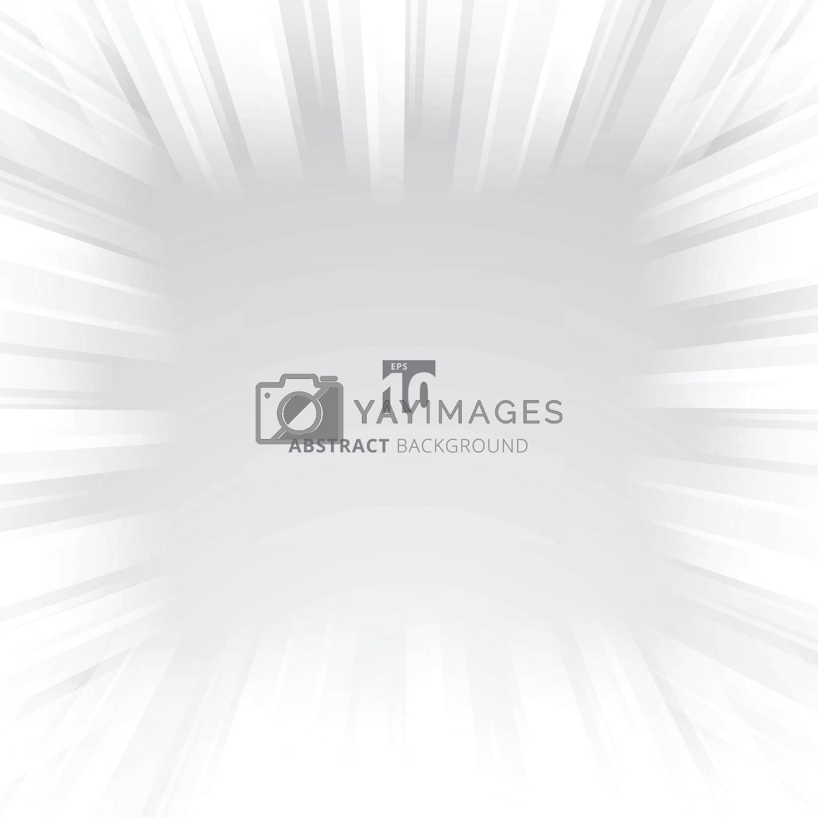 Abstract glow speed tunnel light effect motion blur. Vector illustration