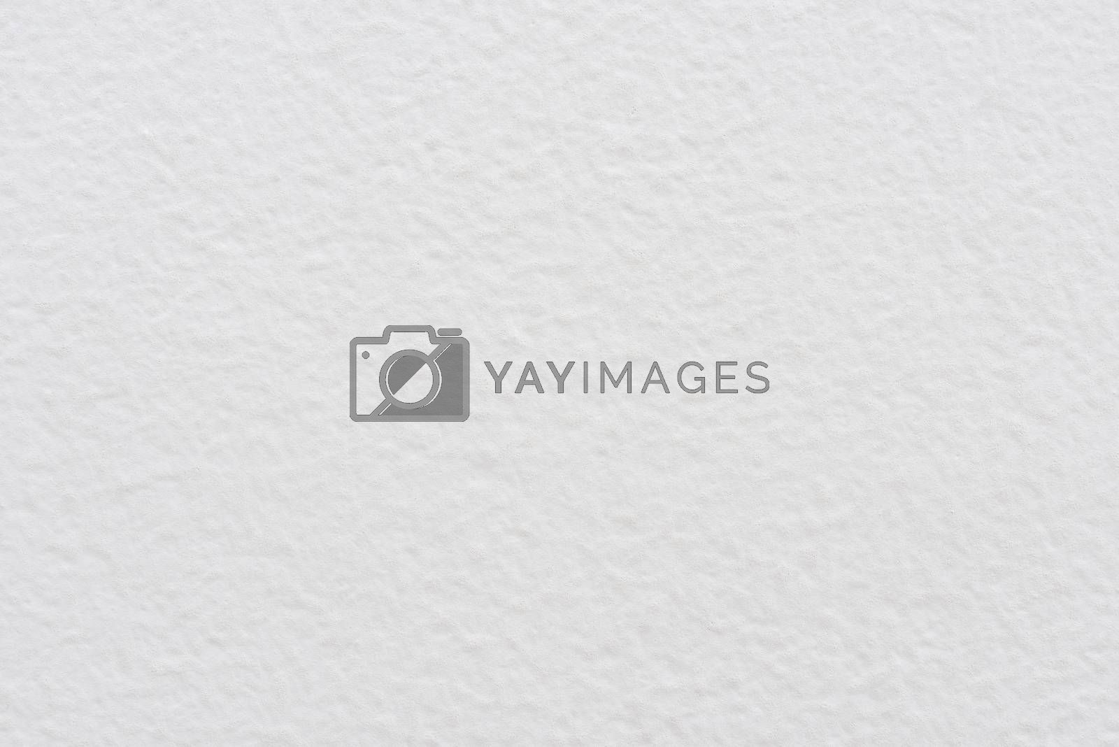 Blank plastered white wall texture or background