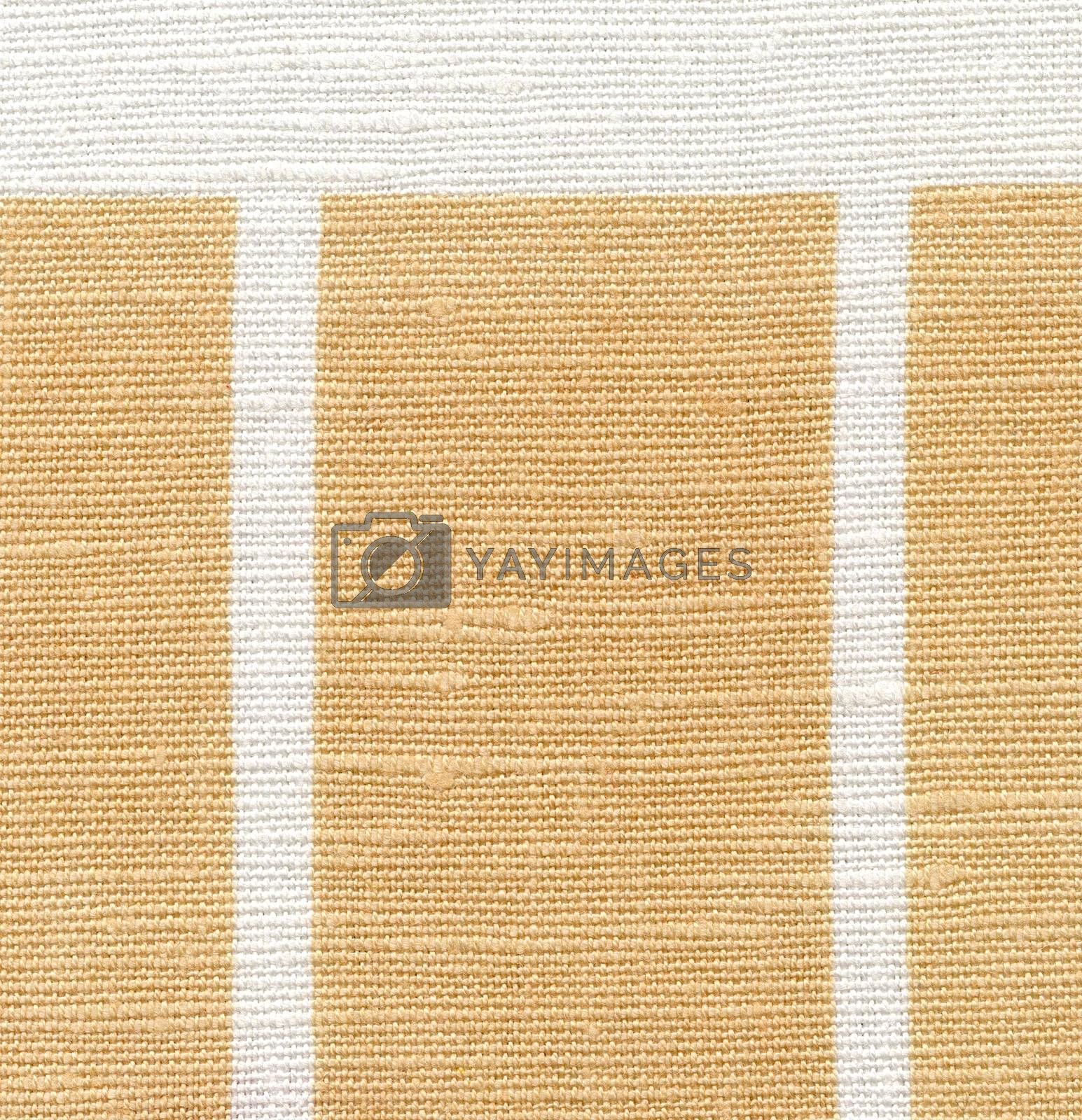 Canvas texture, white and beige with strips