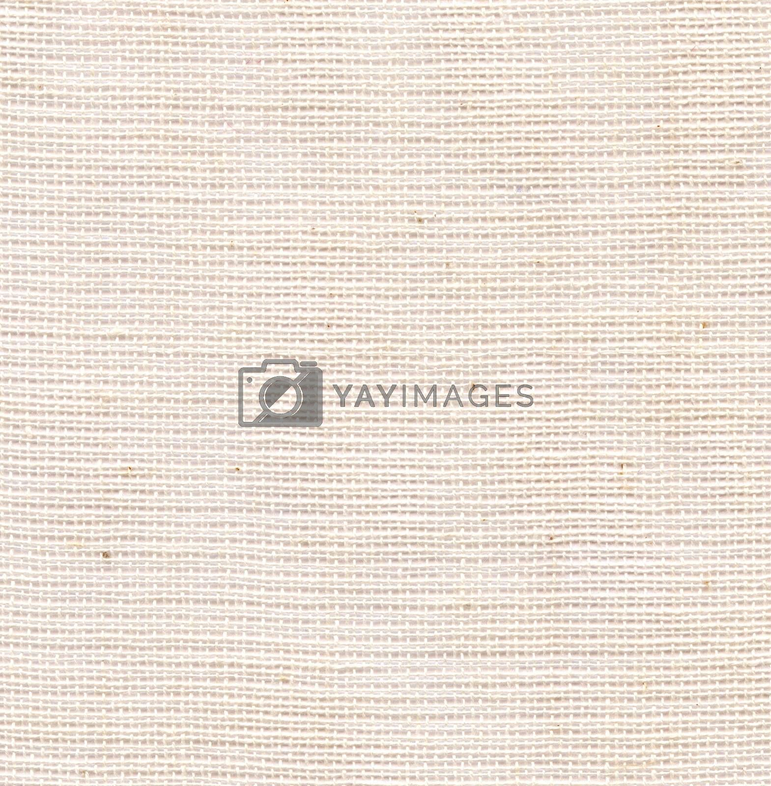 Fabric Texture. Light yellow and white canvas background