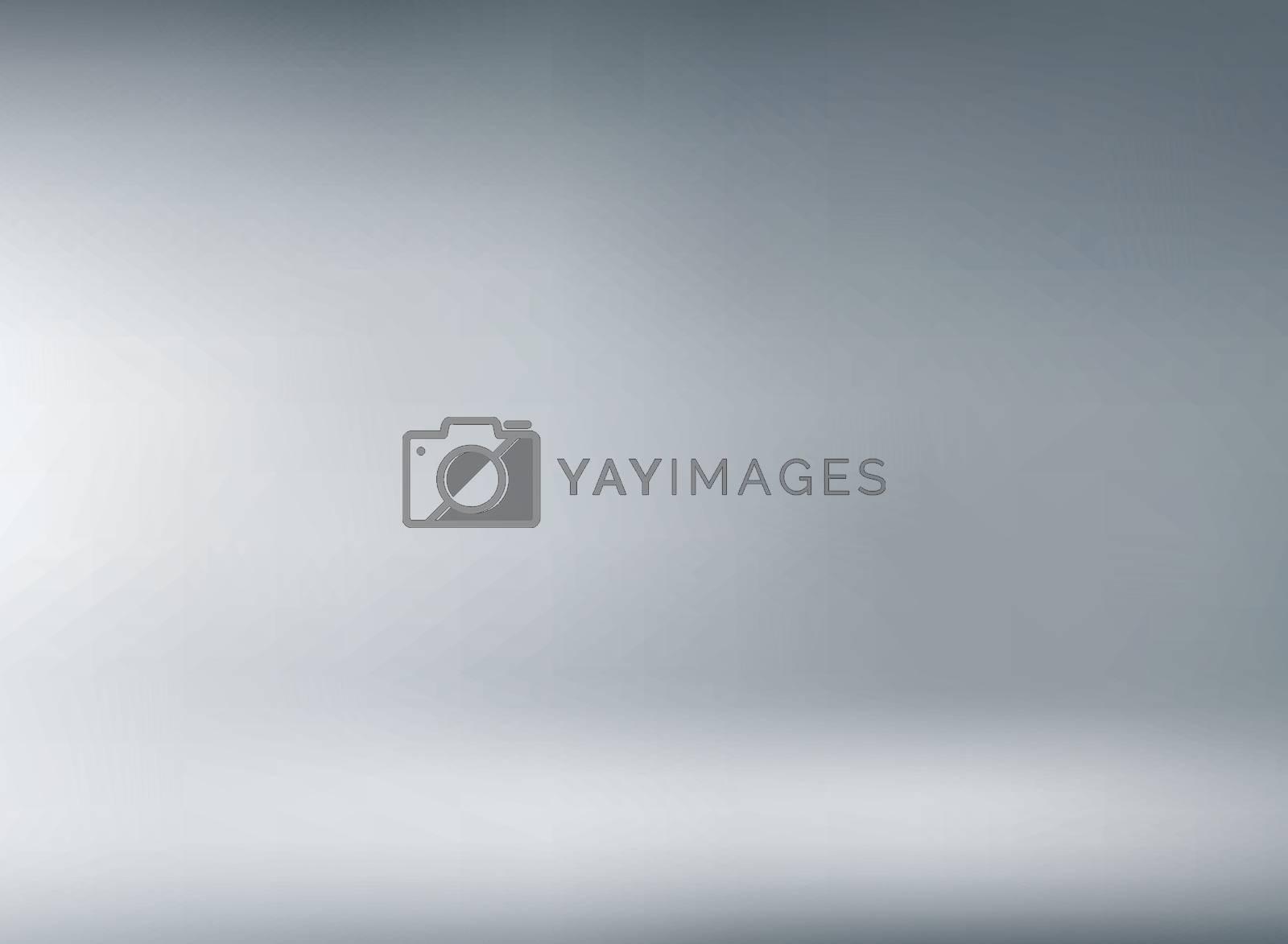 Studio room gray background with soft lighting. You can use for design print, brochure, poster, banner, website, Presentation. Vector illustration
