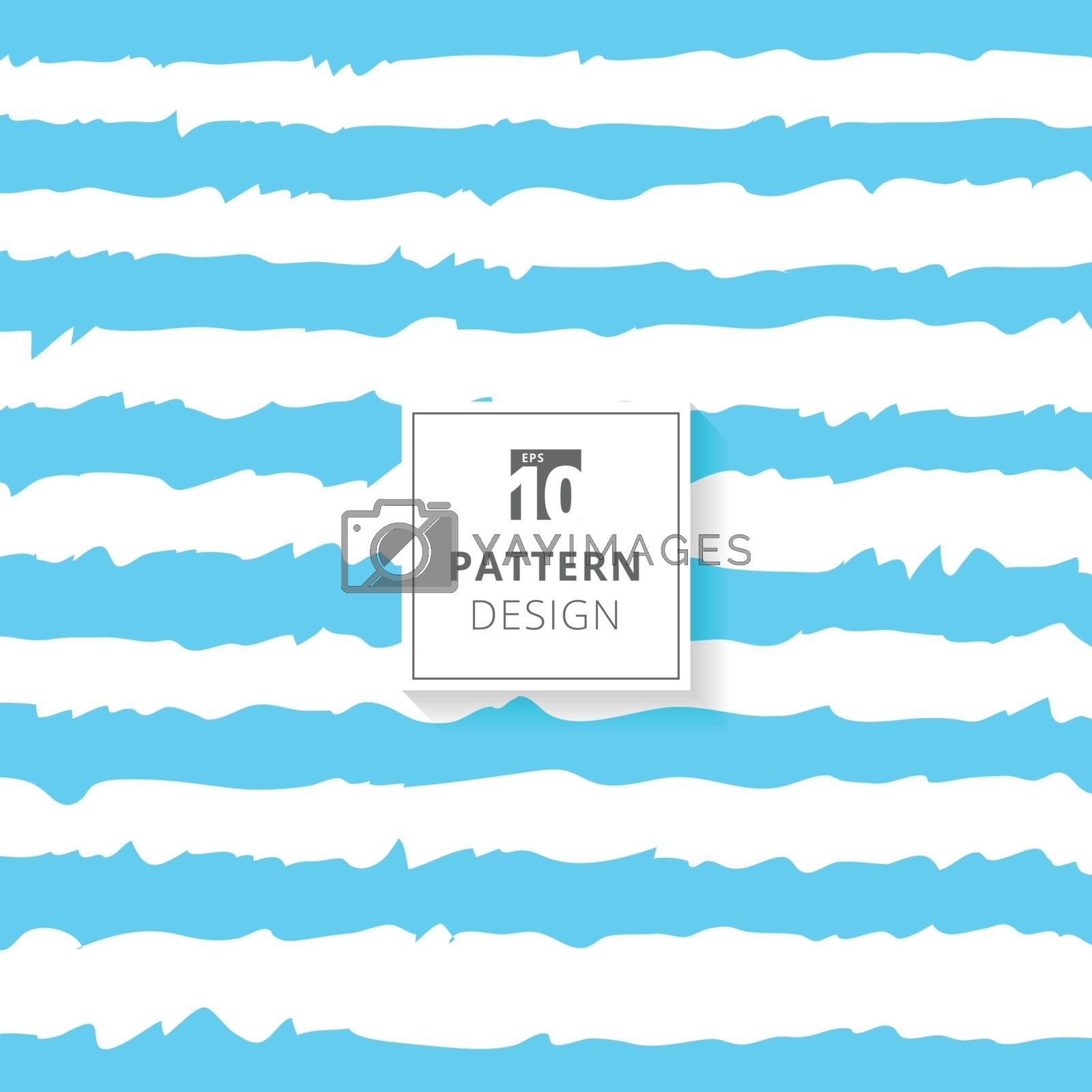 Abstract blue white switch wavy shape. Vector illustration