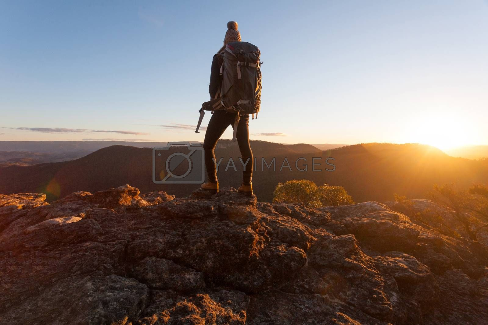 Nothing can substitute experience.  Standing on the edge of Mt Victoria  as the golden sun dips low on the horizon