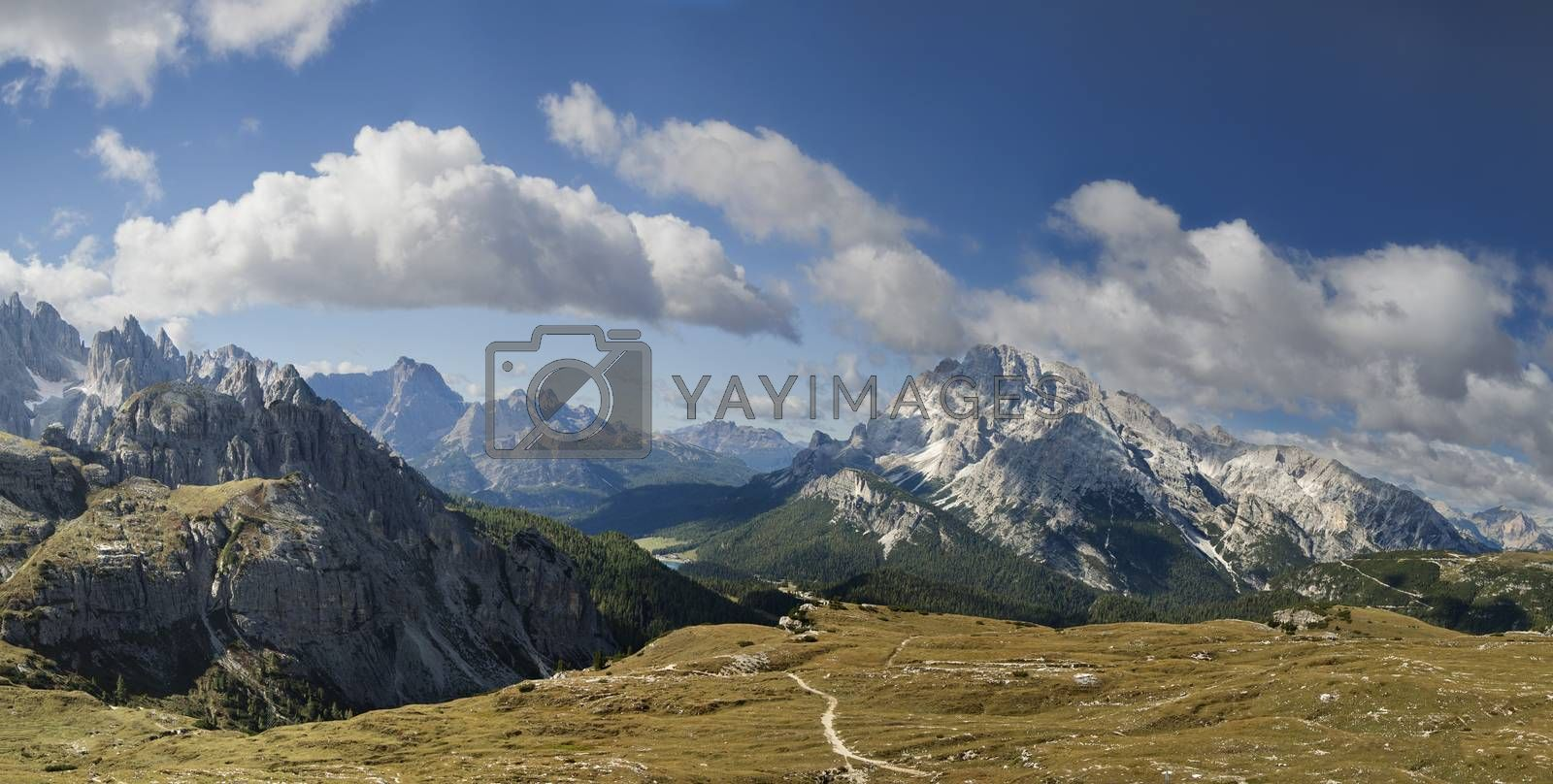 Dolomites mountains landscape by Goodday