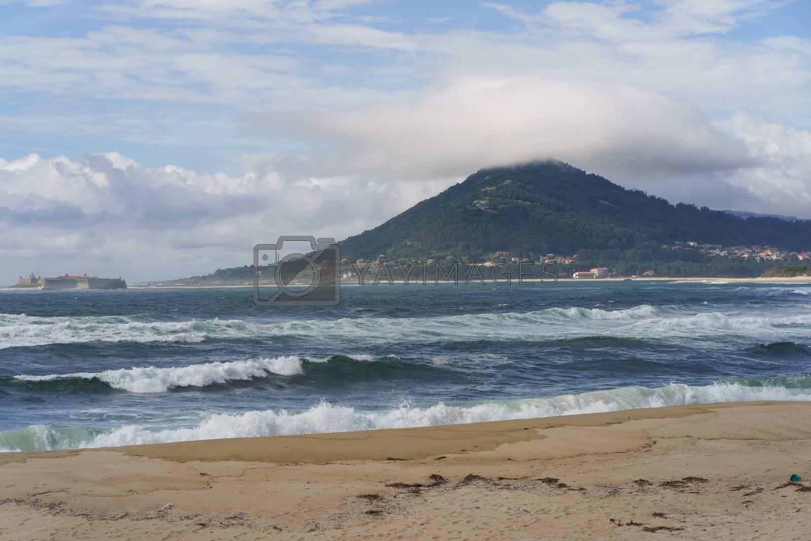 The Atlantic shore of Portugal